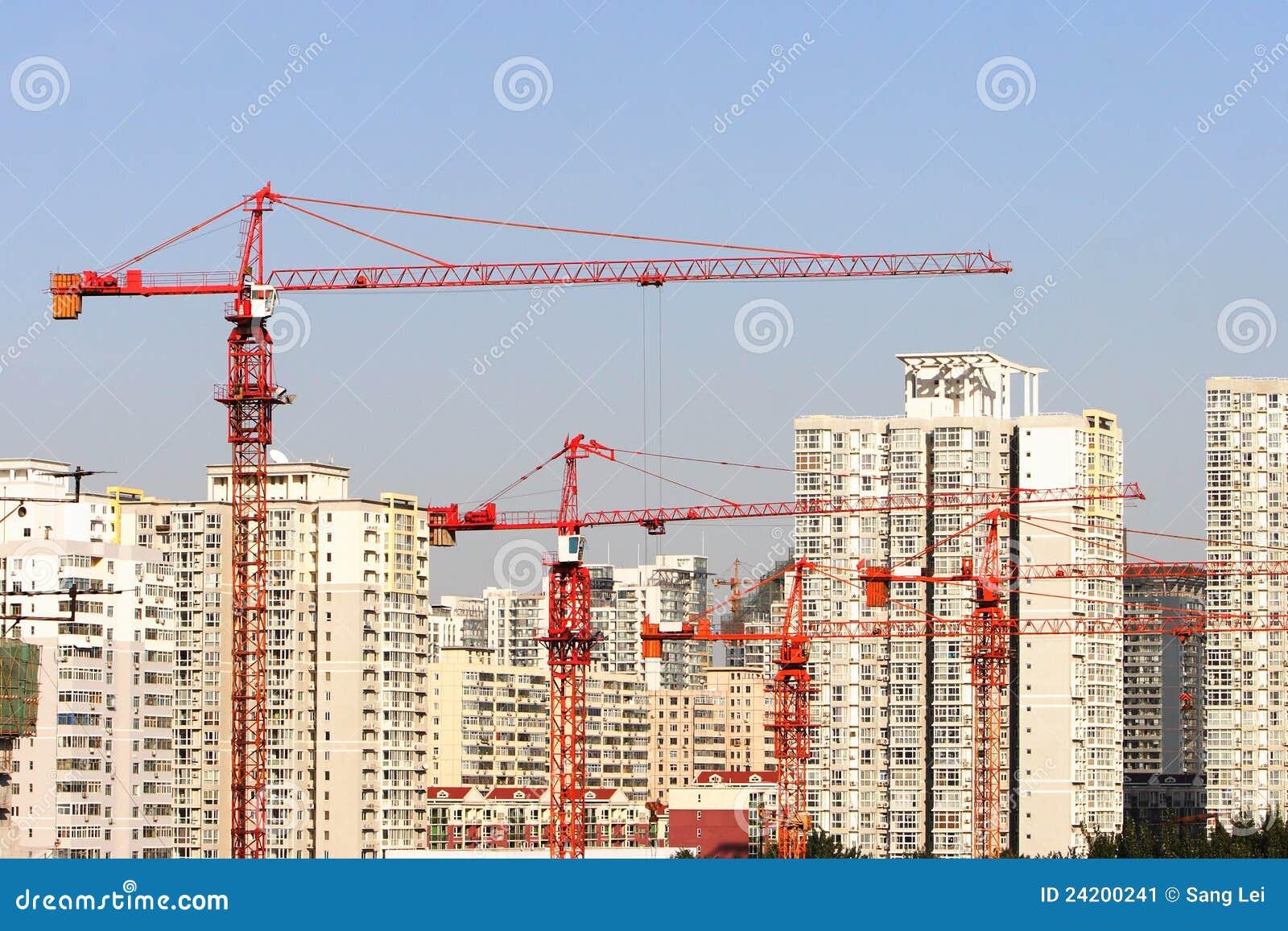 кран зданий