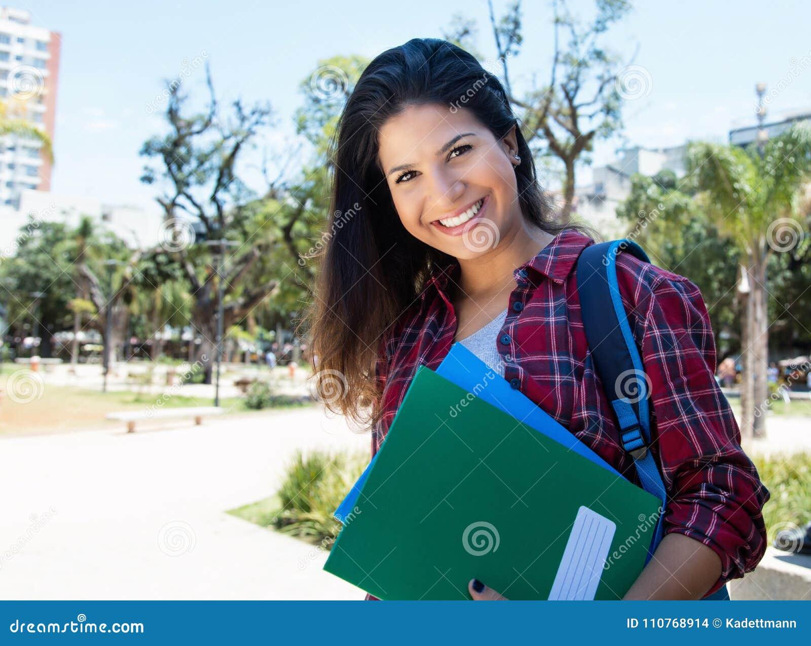 Американская студентка