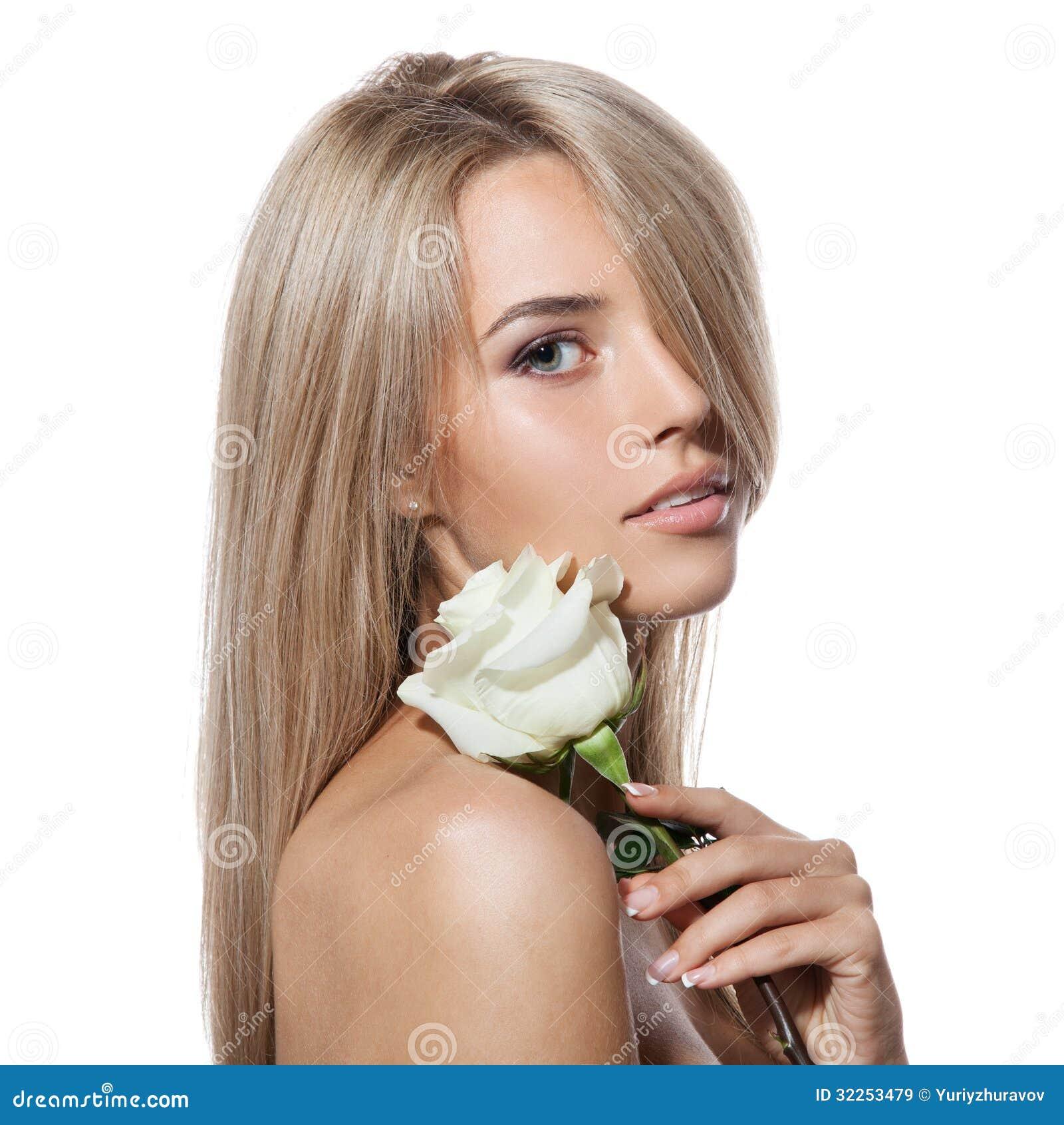 фото с розой