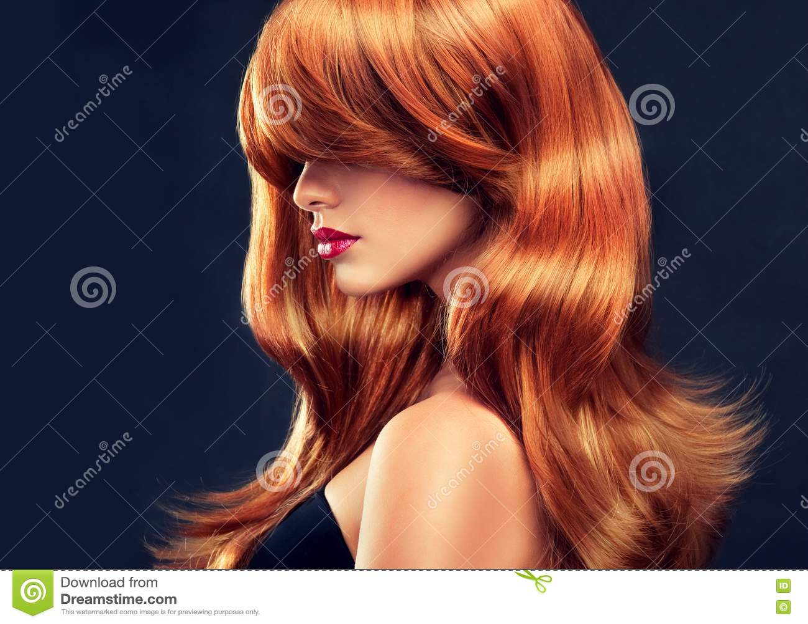 Картинки красивые девушки красными волосами