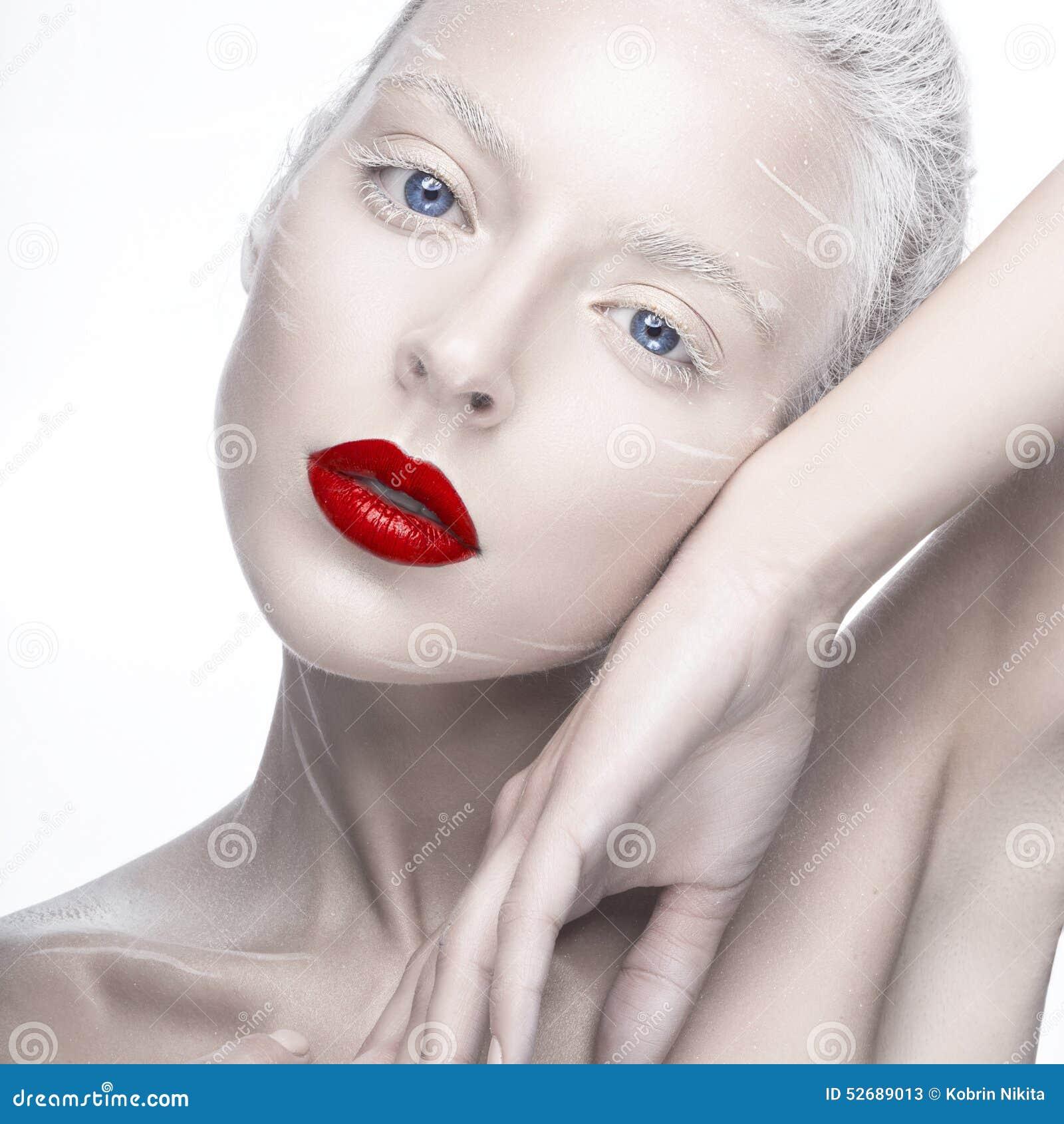 фото альбиноса