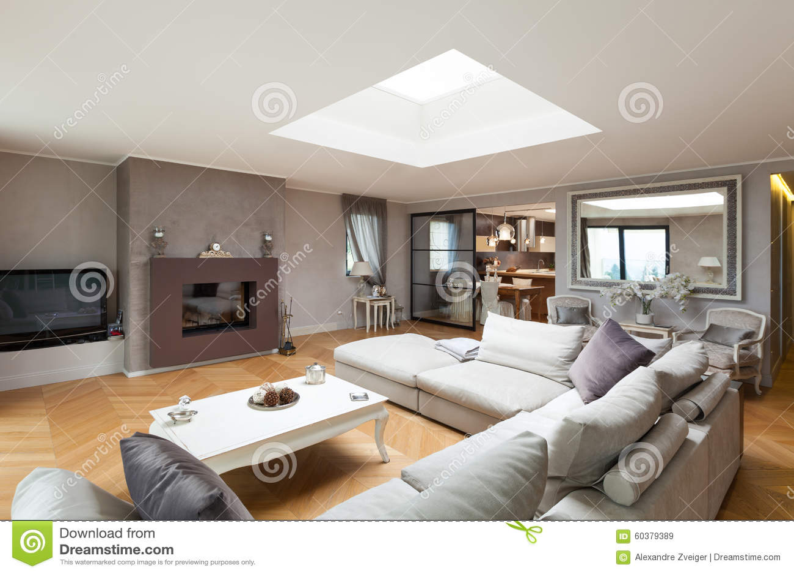 Красивая поставленная квартира