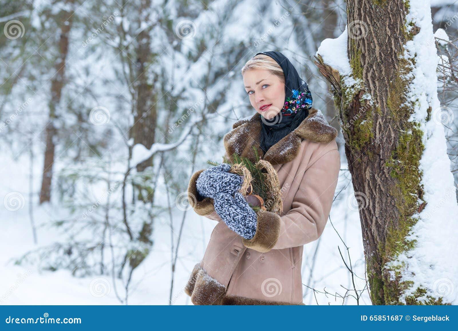 В русском лесу девушки фото видео кастинг минетчиц