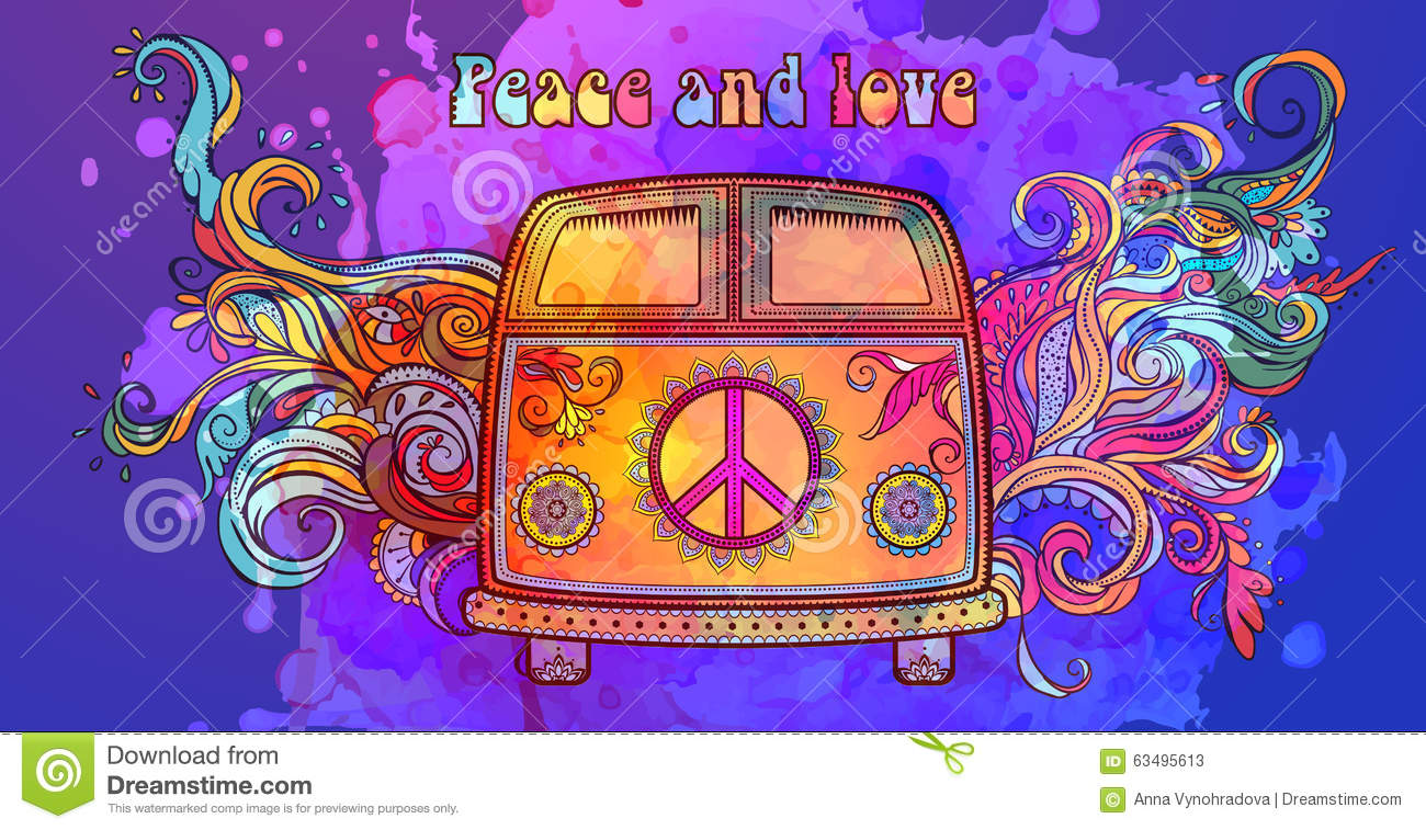 peace frogs groovy amp retro 60s wallpapers amp screensavers - 640×360