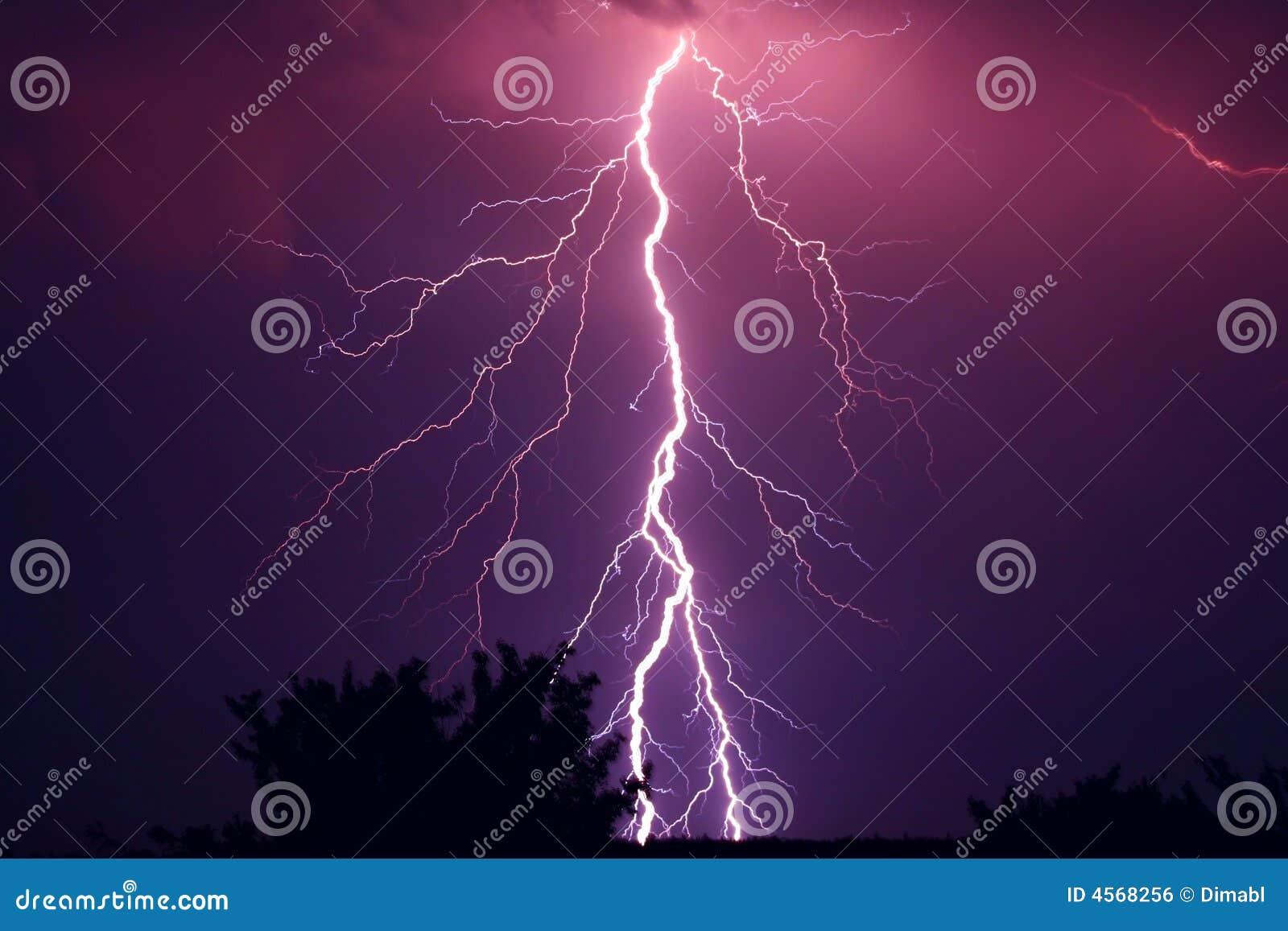 красивейшая молния