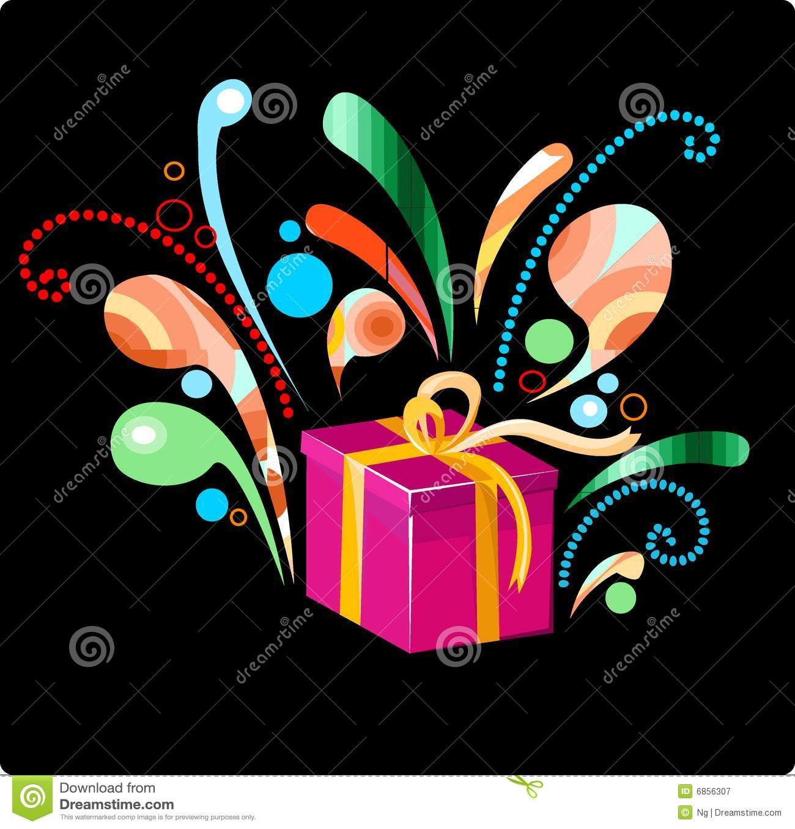 красивейший подарок рождества дня рождения
