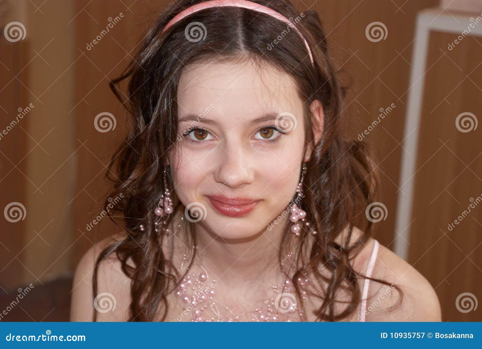 красивейший портрет девушки состязания красотки