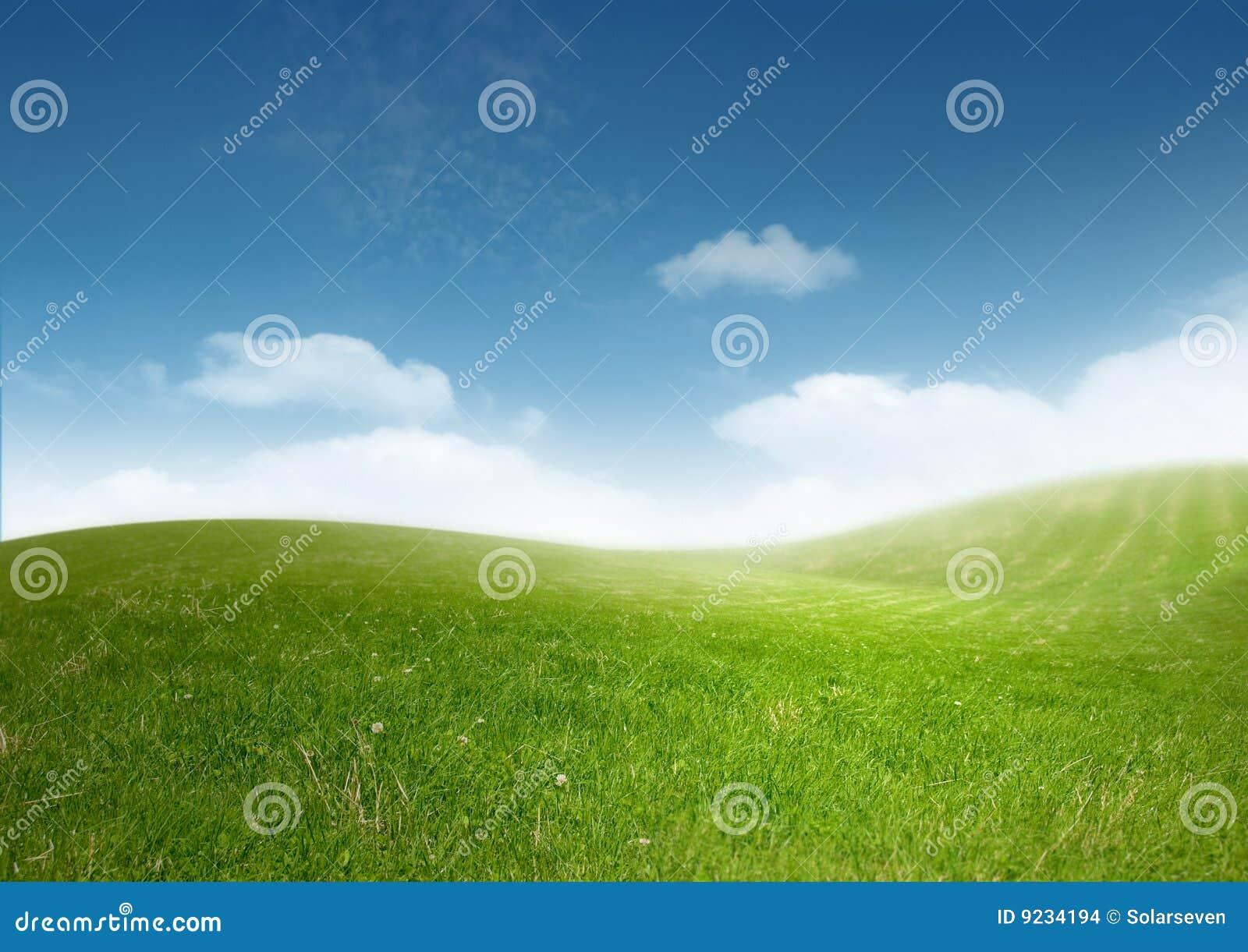 красивейший чистый ландшафт