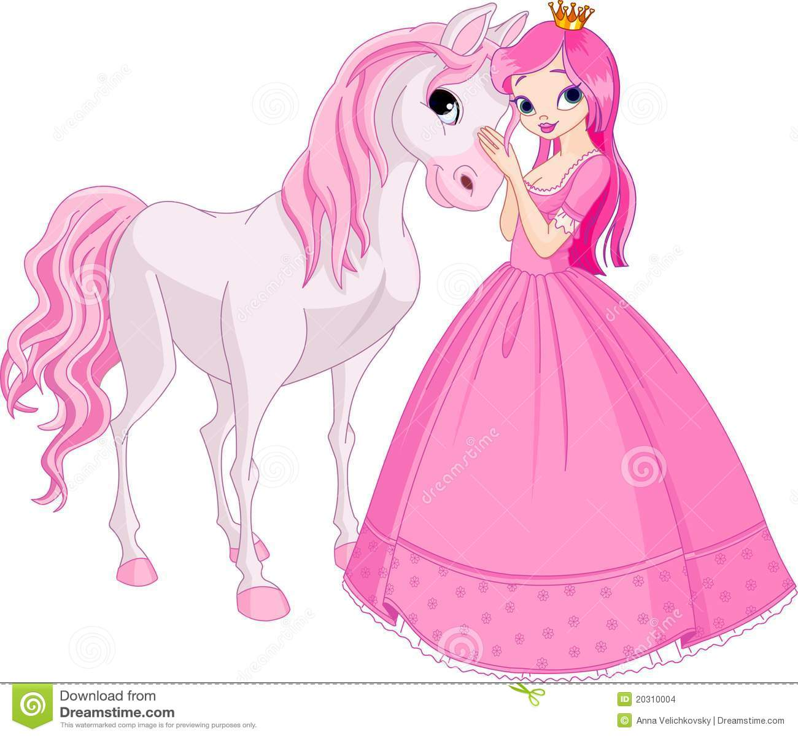 красивейший princess лошади