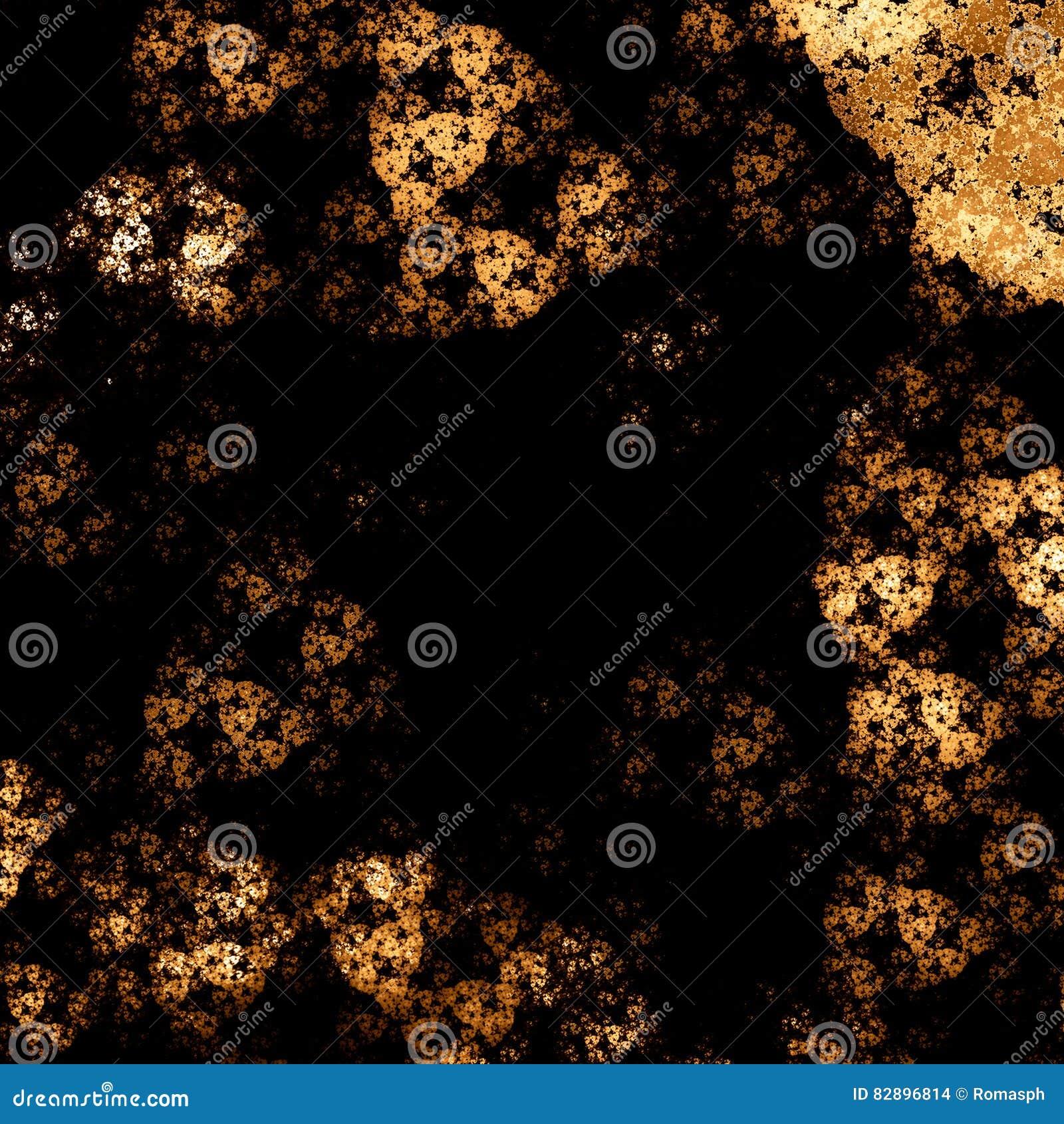 Красивое абстрактное изображение компьютер детализирует произведенную фракталью текстуру картины mirco