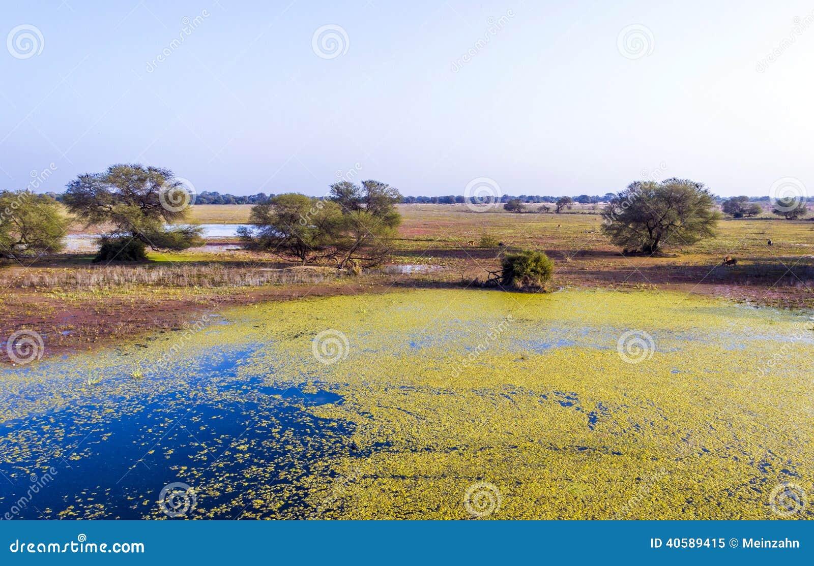 Красивое озеро в Keolado