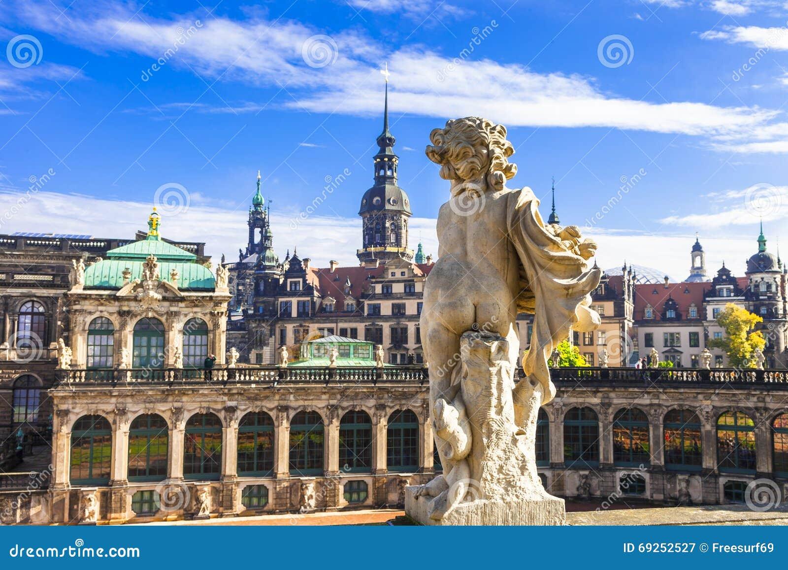 Красивые барочные Дрезден - Германия