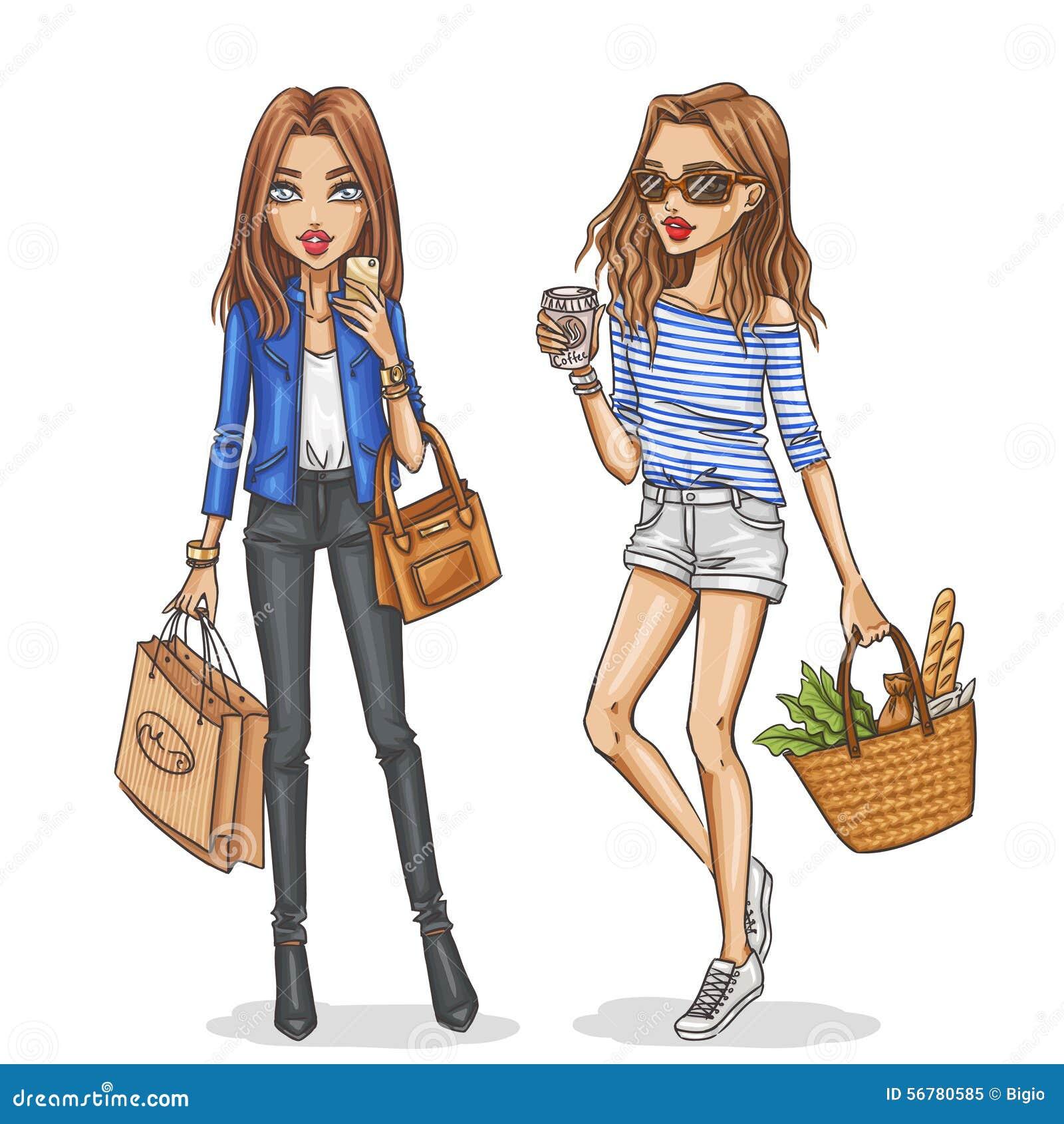 скачать картинки девушки модные