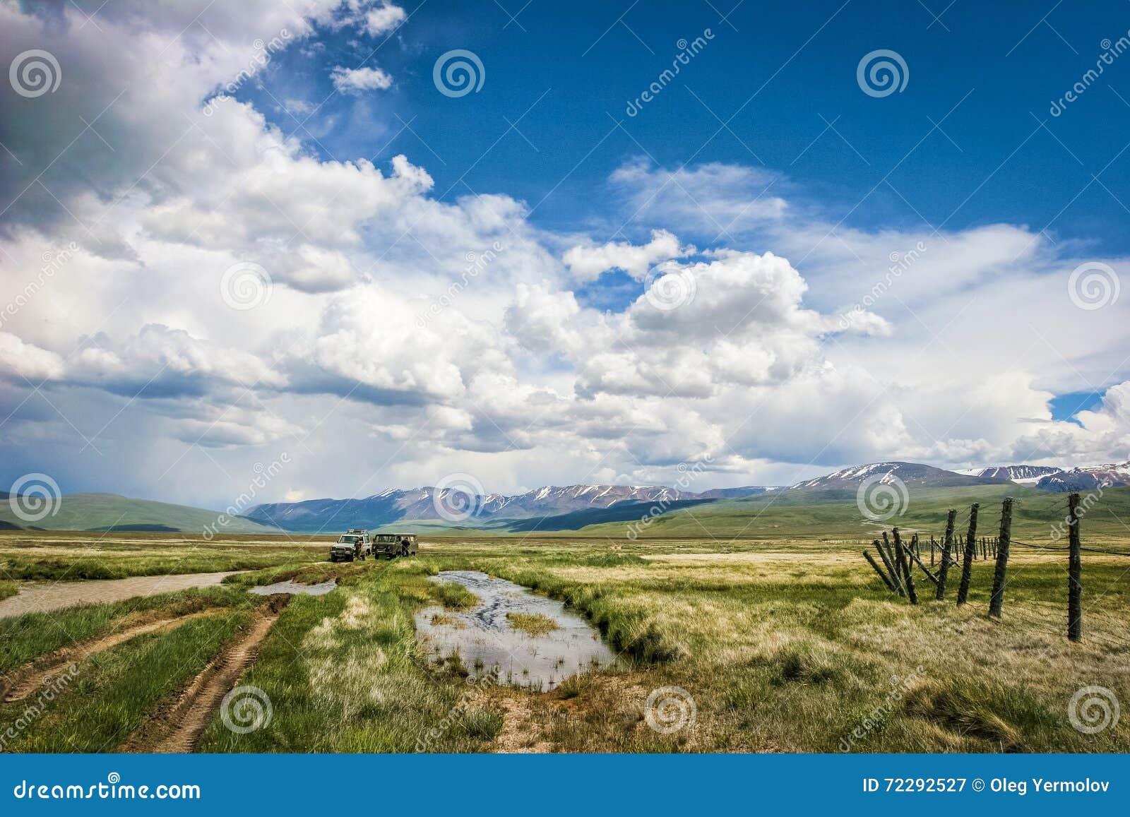 Download Красивый ландшафт с горой стоковое изображение. изображение насчитывающей напольно - 72292527