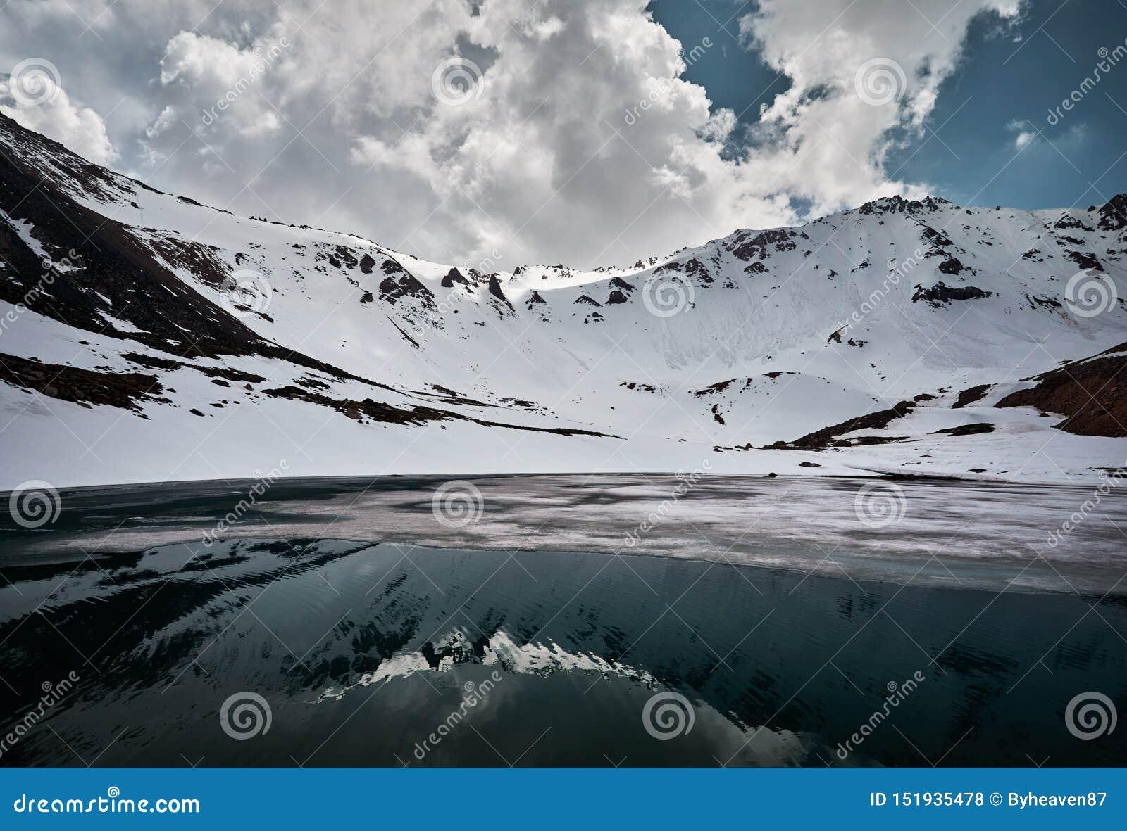 Красивый ландшафт гор