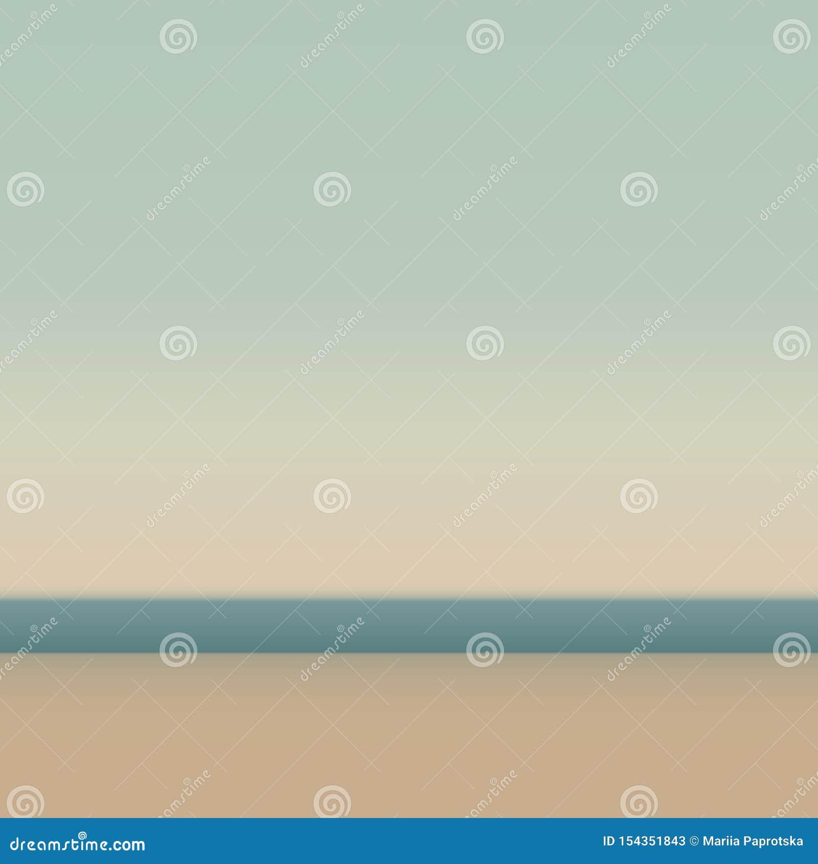 Красивый песчаный пляж Абстрактная предпосылка для сети и мобильных применений, иллюстрации искусства, дизайна шаблона, дела