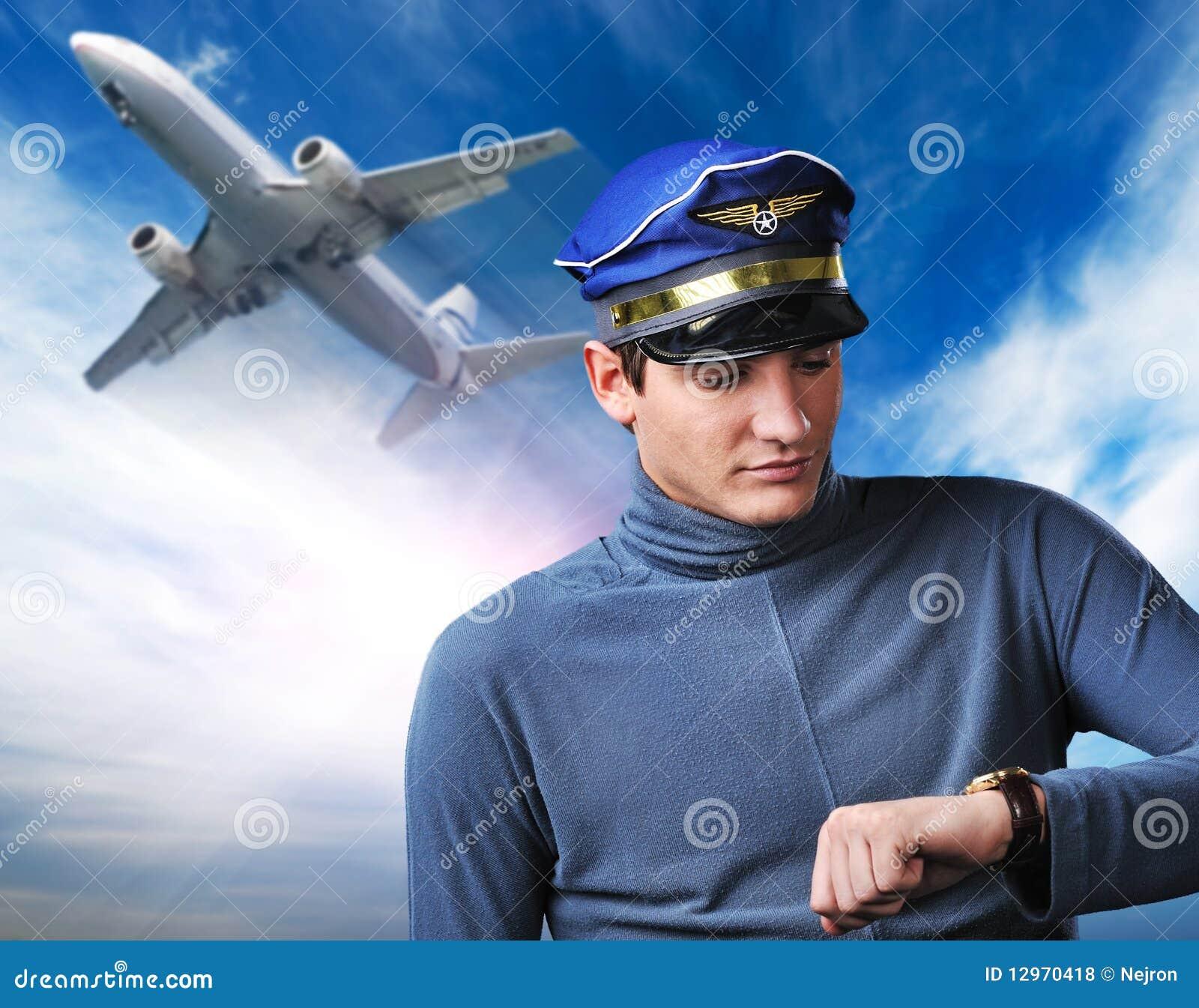 Поздравления командира воздушного судна