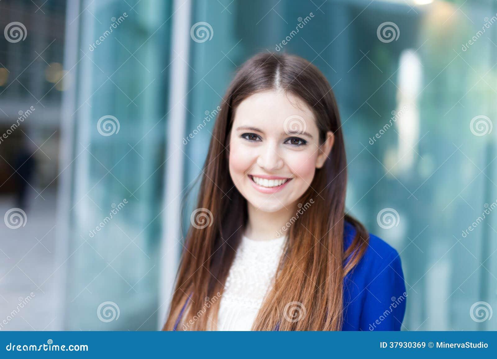 Красивый портрет женщины