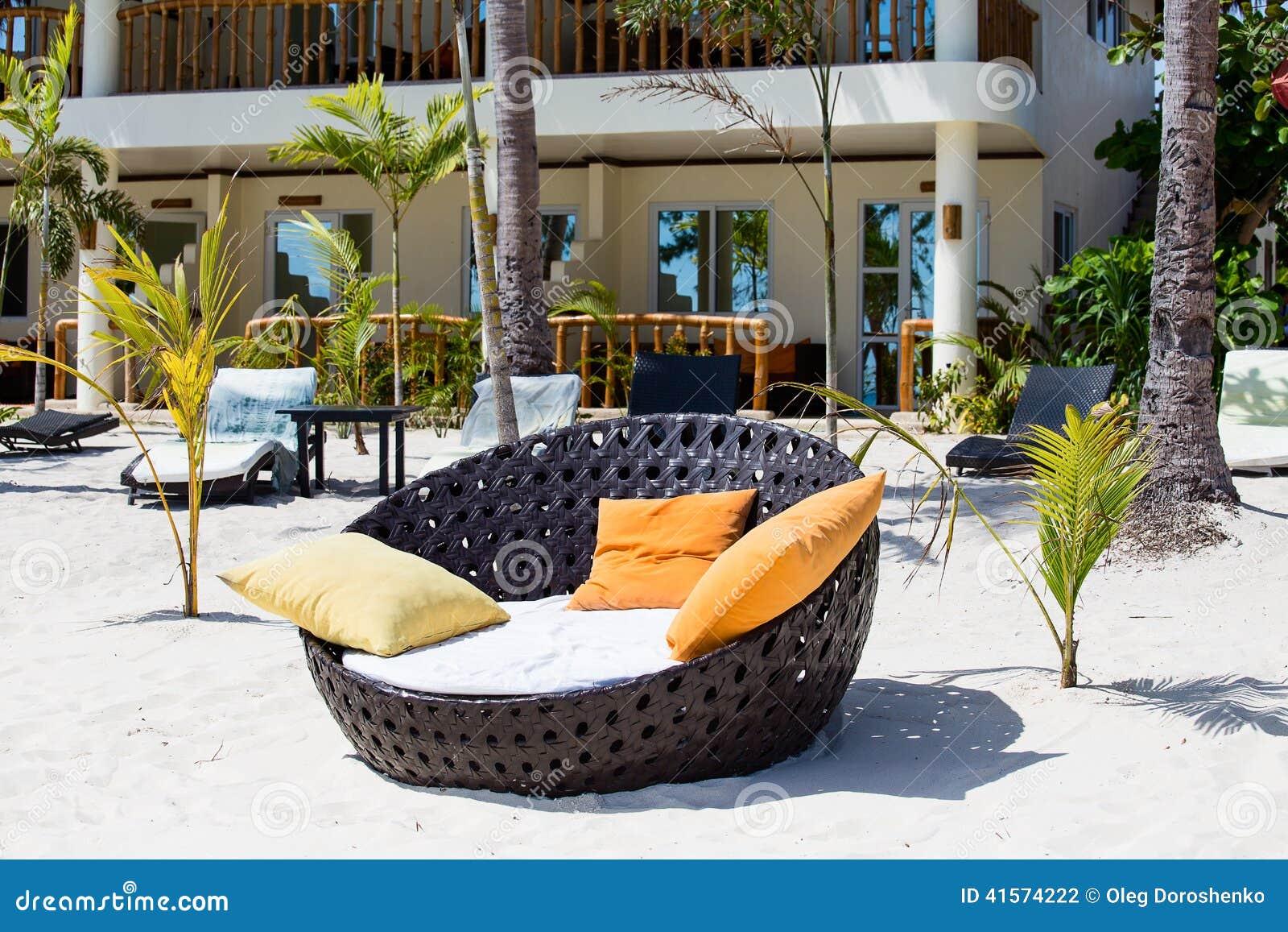 Красивый тропический пляж в Филиппинах