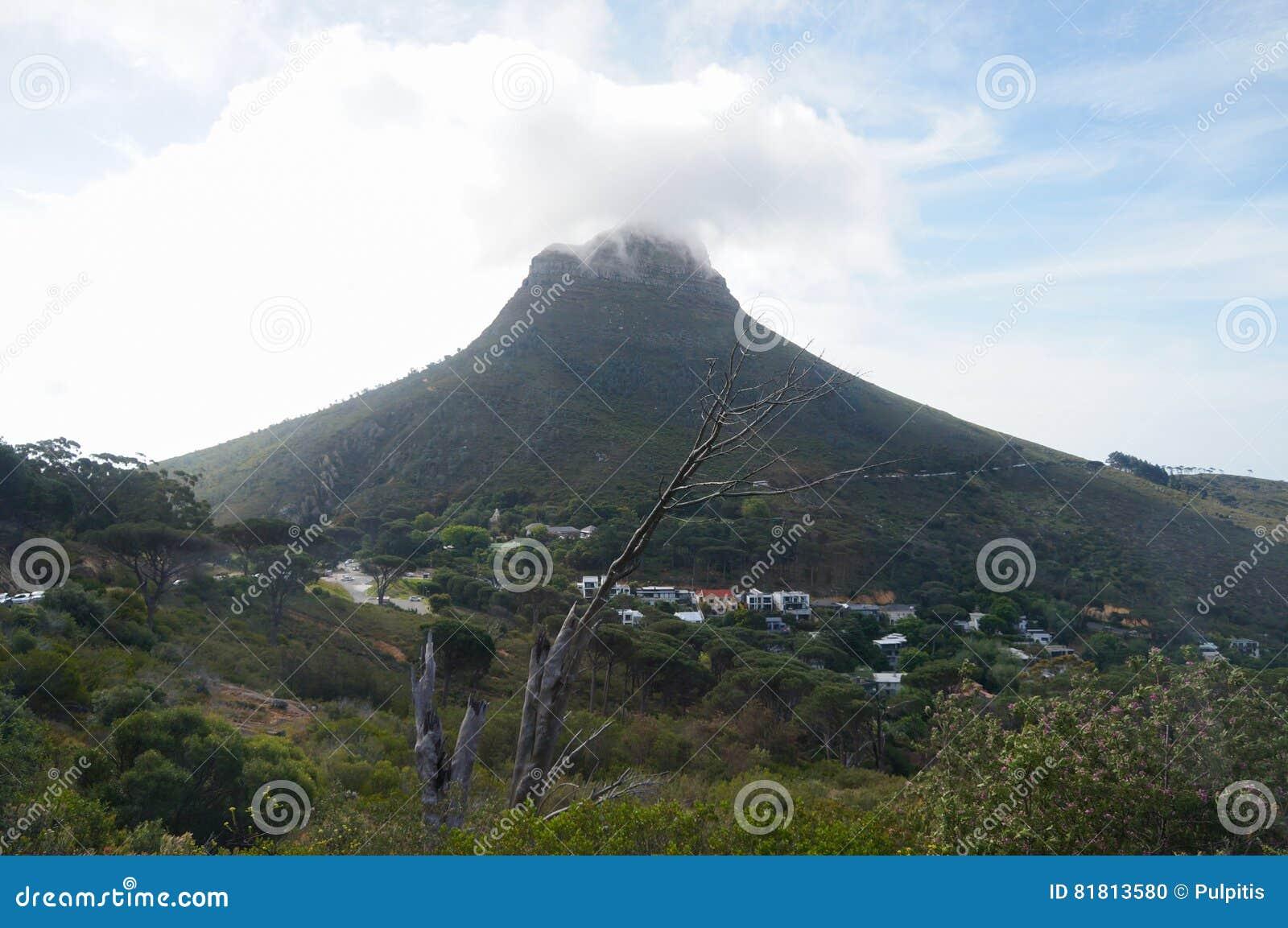 Красивый холм сигнала, Кейптаун, Южная Африка