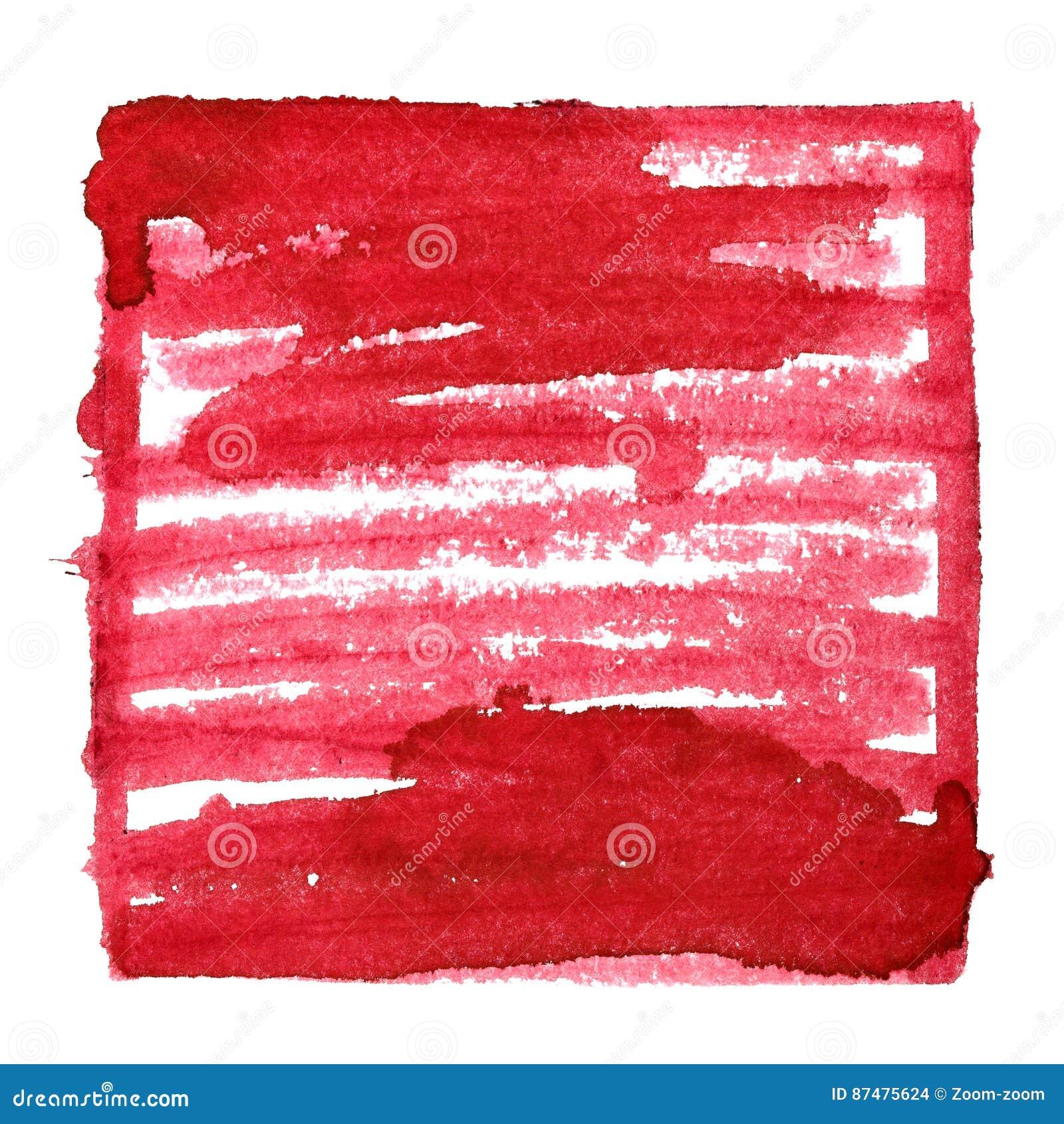 Красная абстрактная предпосылка с рамкой и shading
