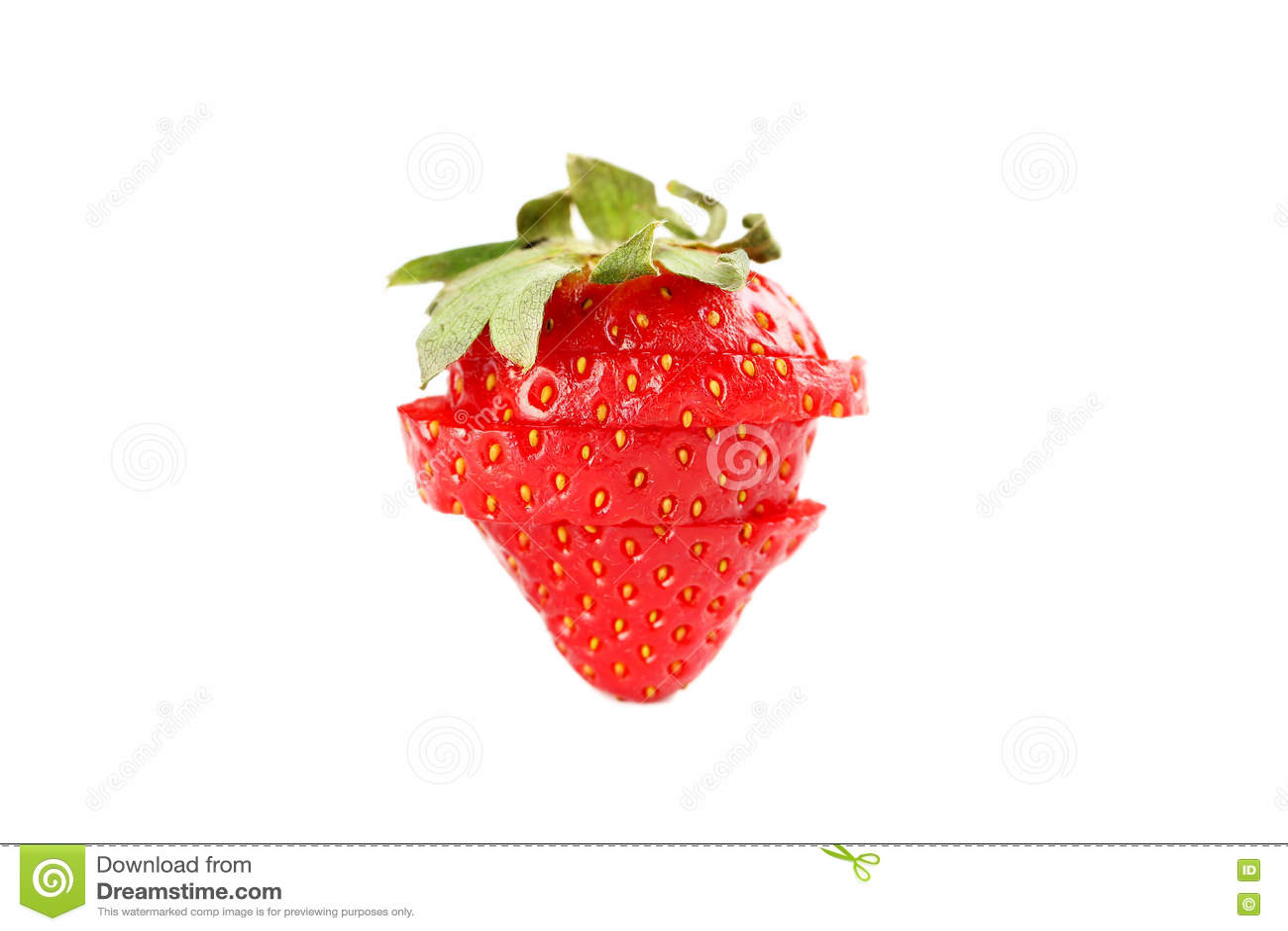 Красная клубника
