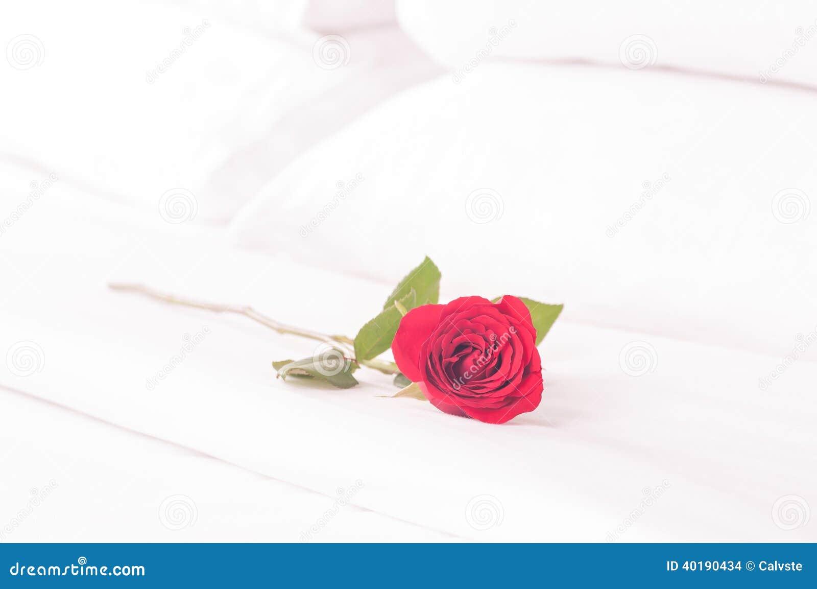 Красивые розы на кровати фото 516-259