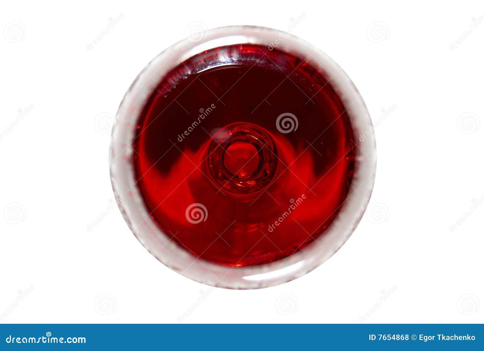 красное вино взгляда сверху