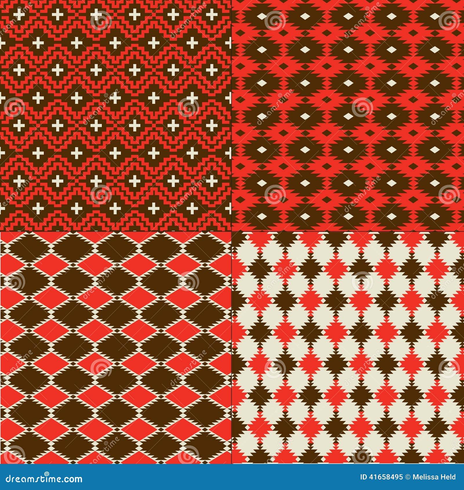 Красные картины коренного американца