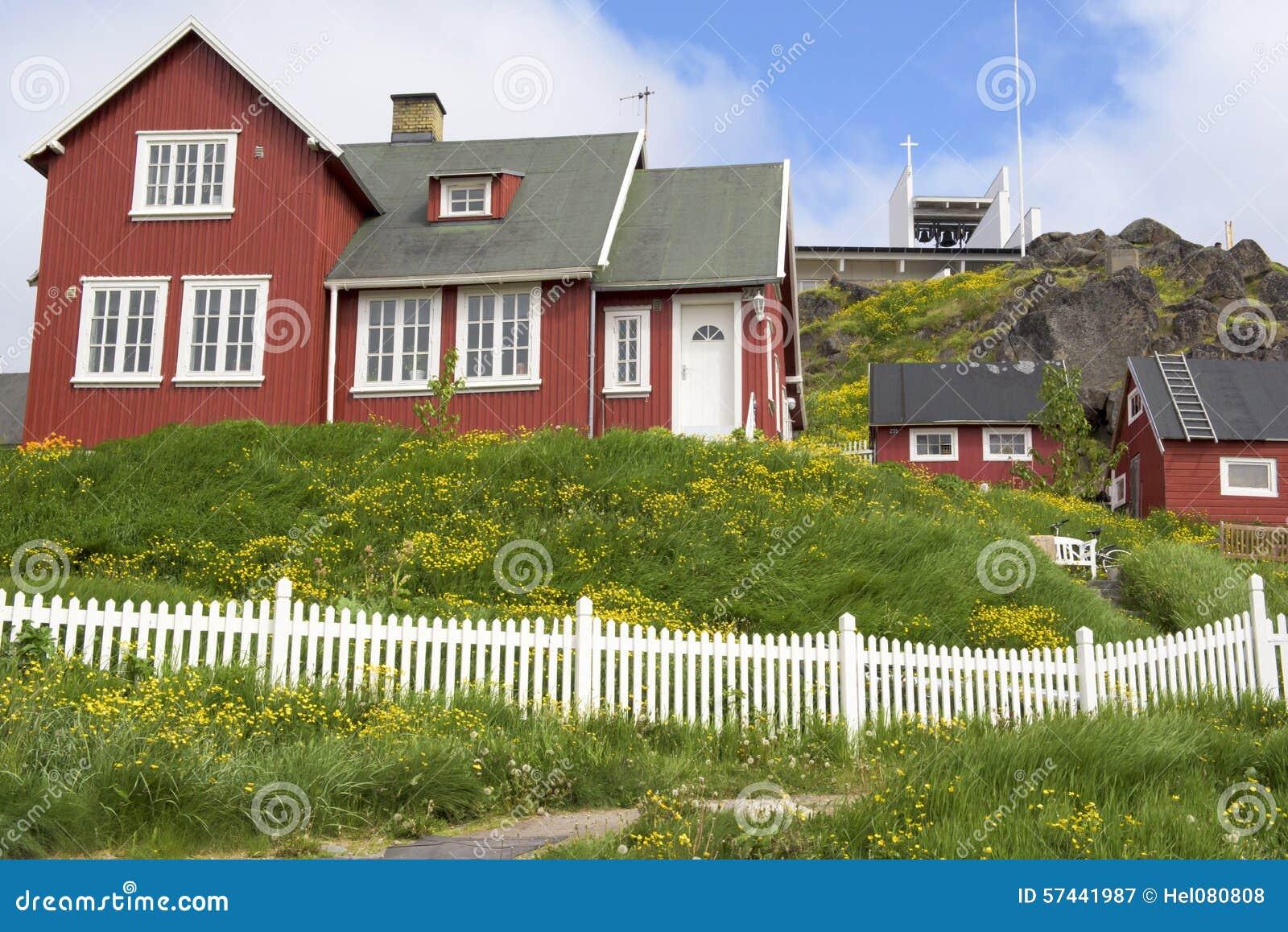 Красные дома, Гренландия