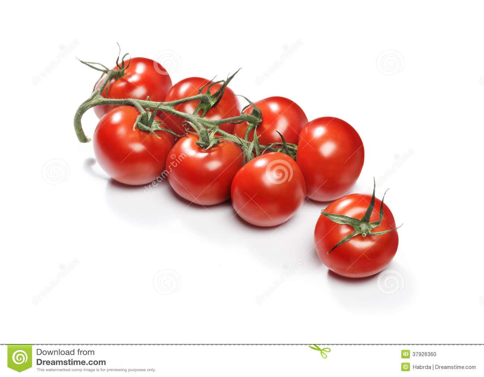 Красные томаты вишни