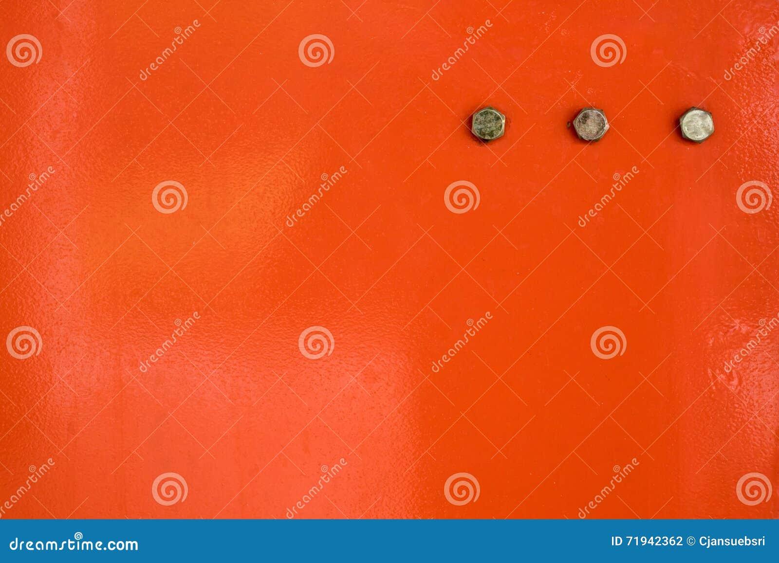 Красный металл с винтом