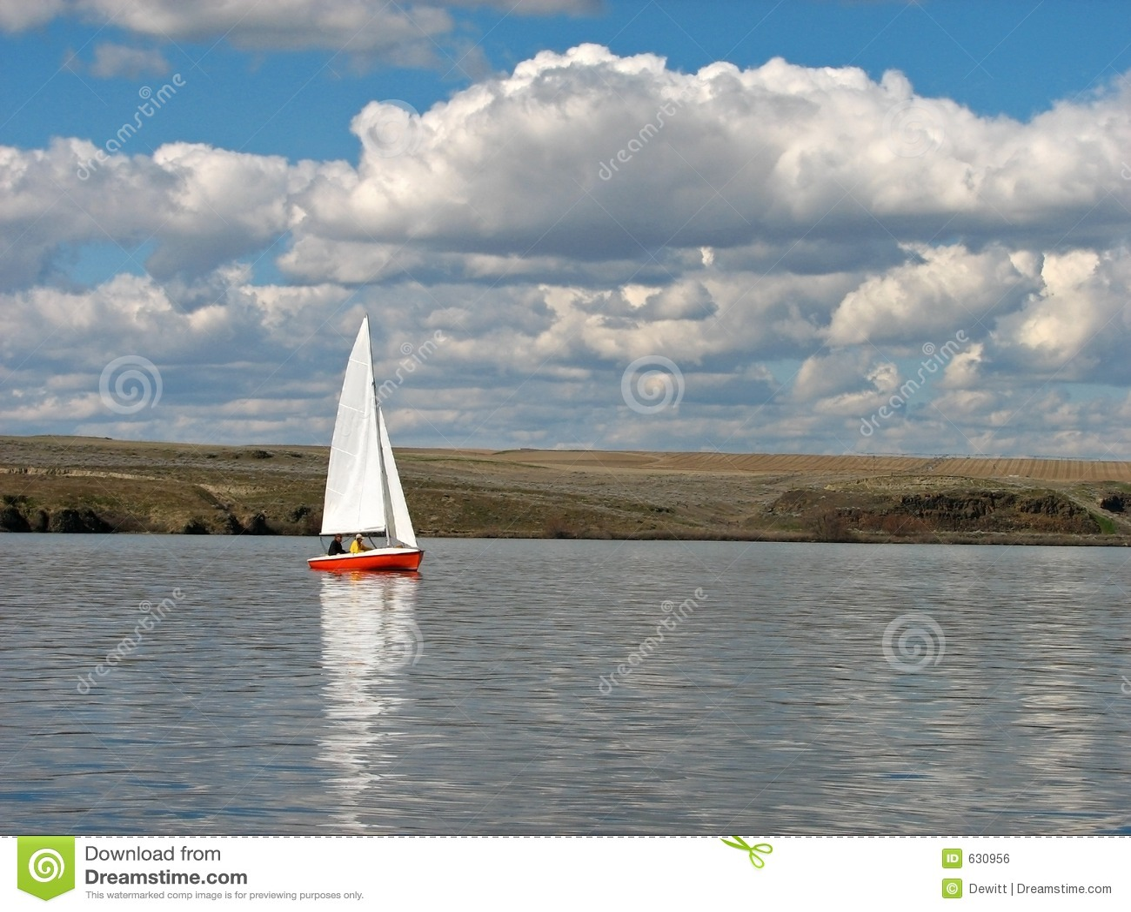 Download красный парусник стоковое фото. изображение насчитывающей boated - 630956