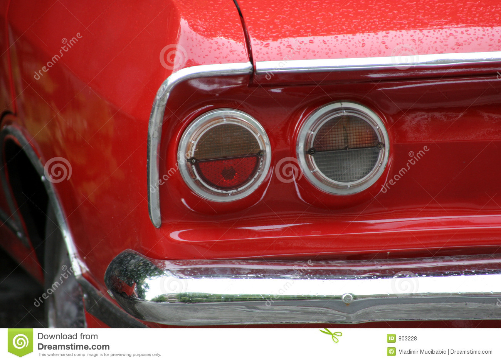 красный цвет автомобиля