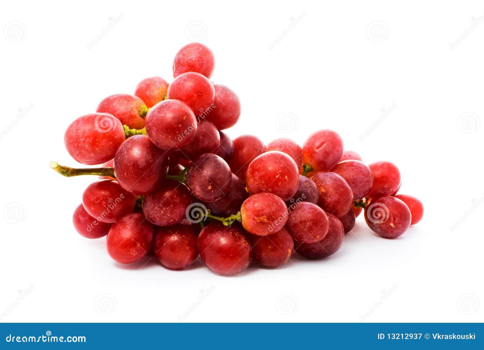 красный цвет виноградины