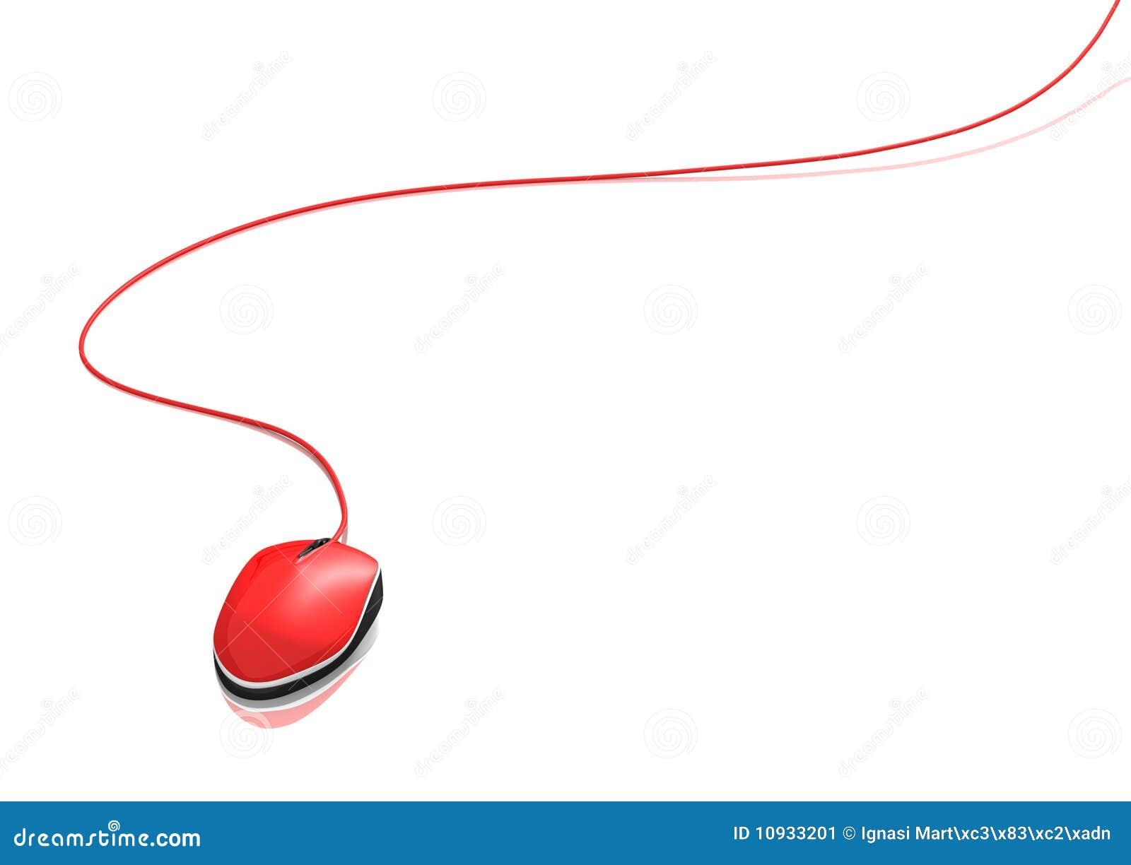 красный цвет мыши