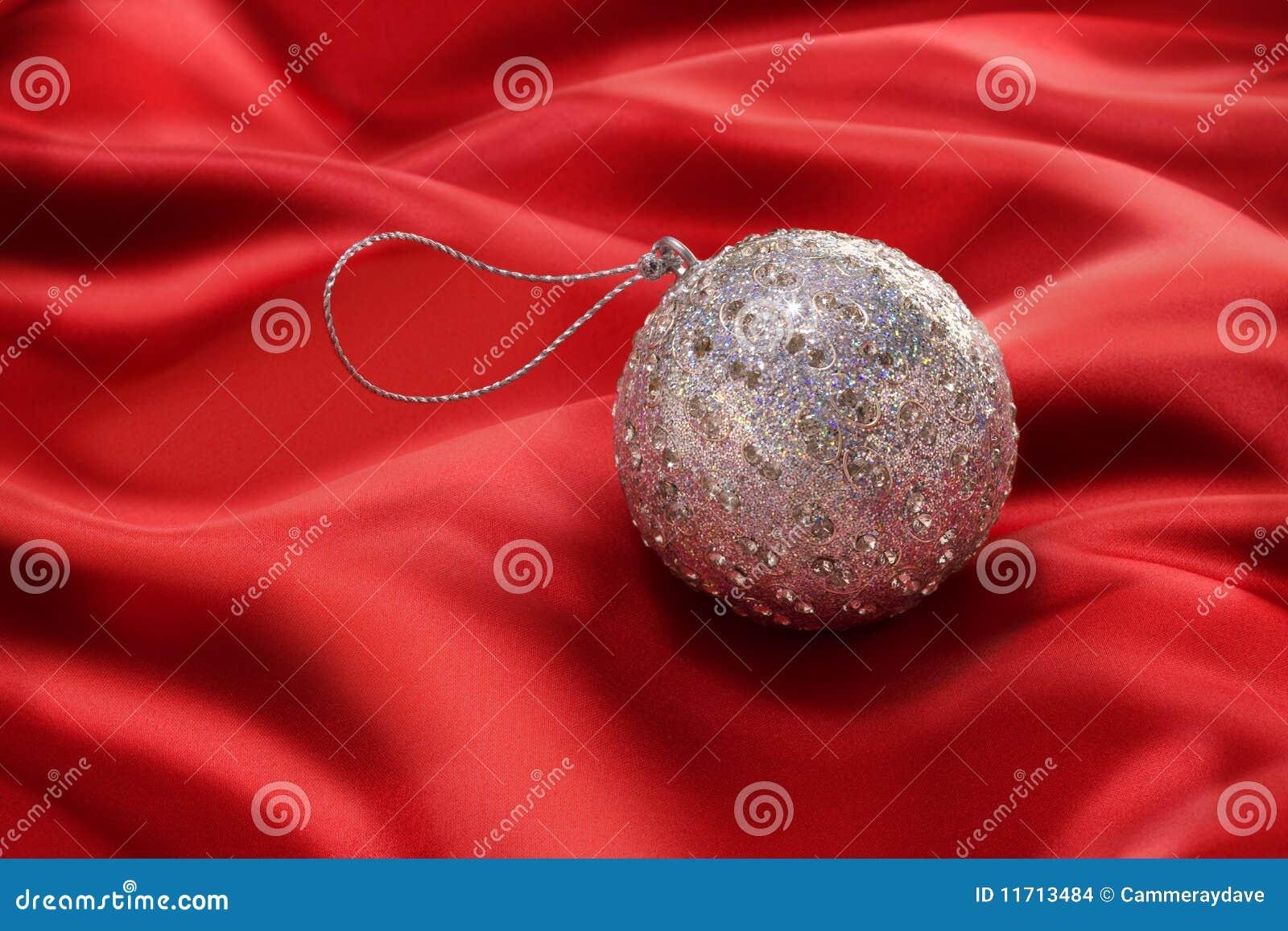 красный цвет орнамента рождества bauble