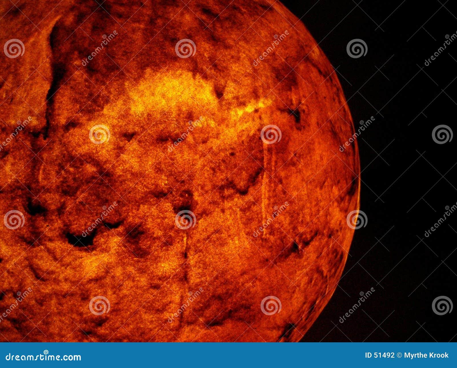 красный цвет планеты
