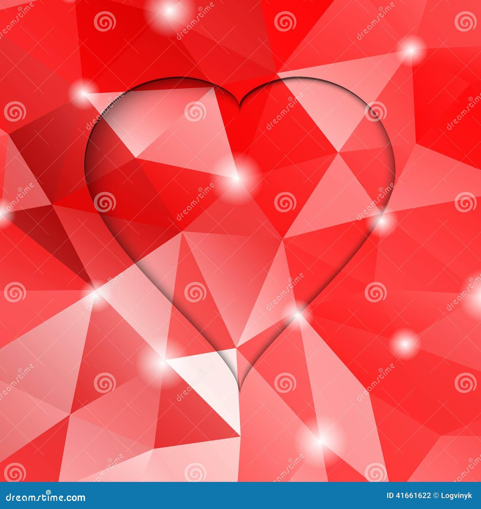 красный цвет поднял Современный конспект с красными сердцами