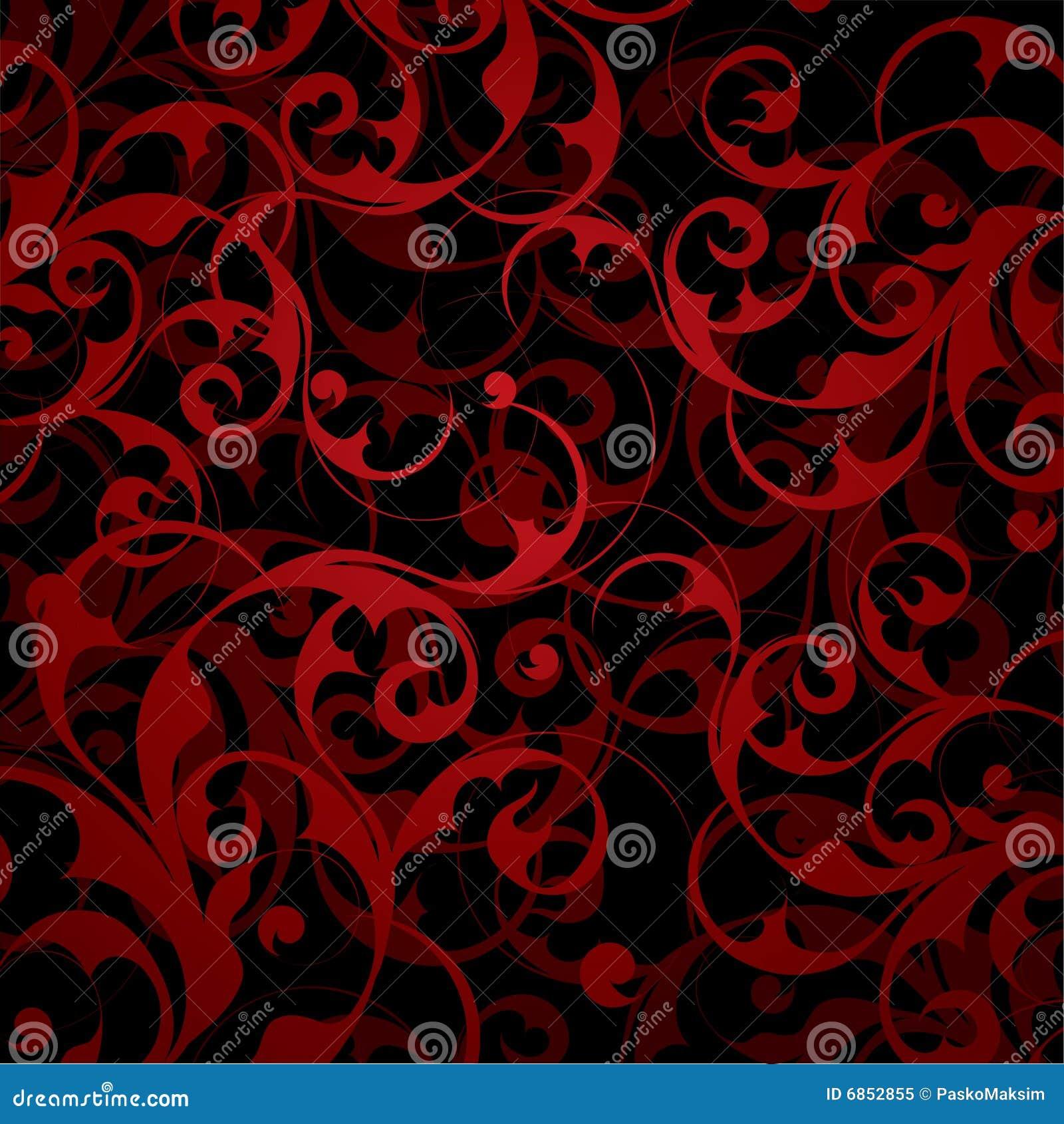 красный цвет предпосылки флористический
