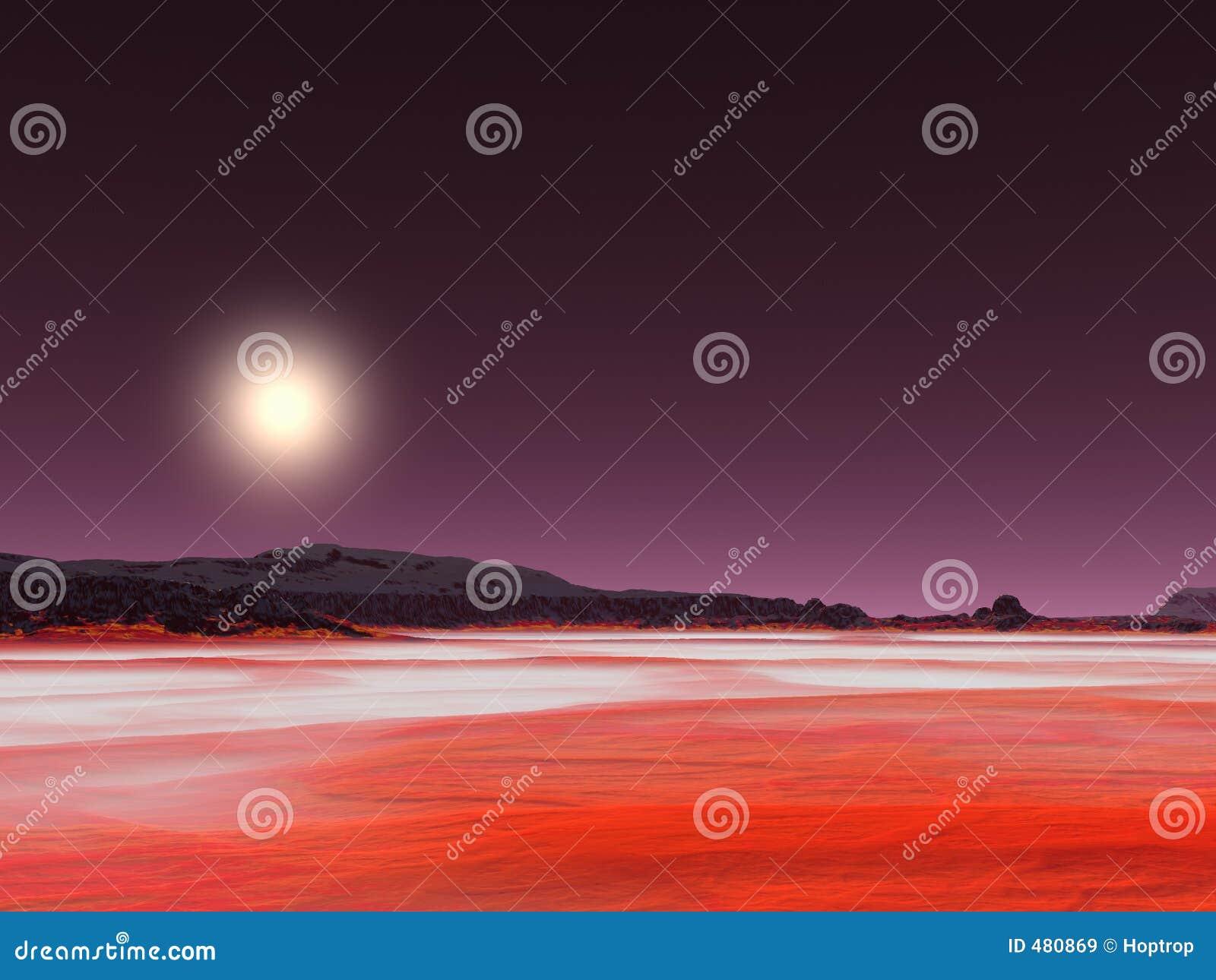 красный цвет пустыни