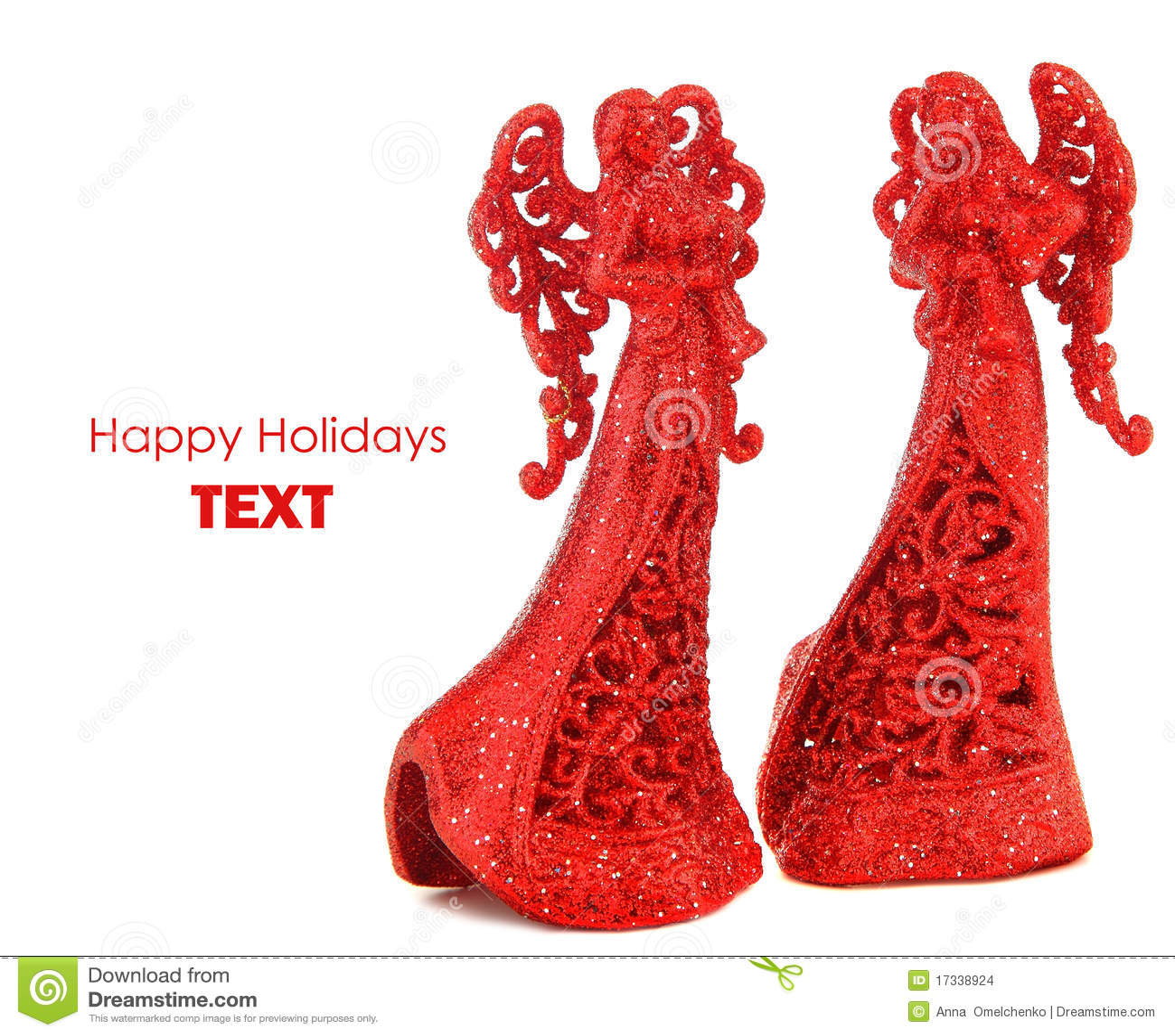 красный цвет рождества граници ангелов