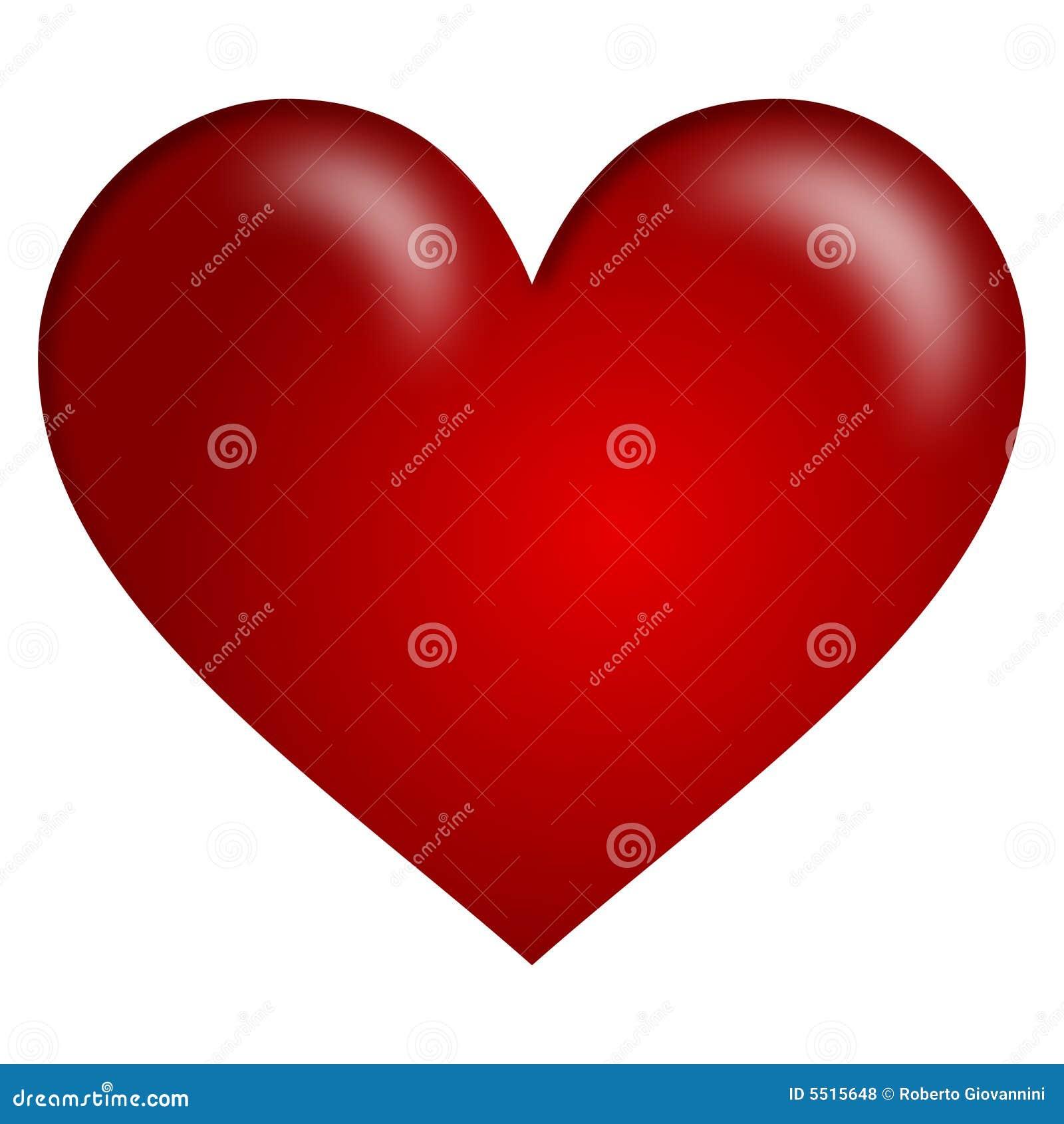 красный цвет сердца