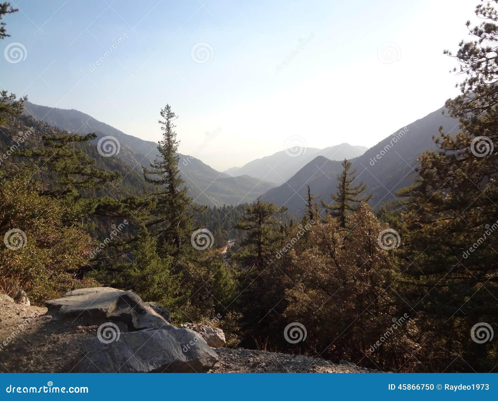 Красота 01 горы Mt Baldy внешняя