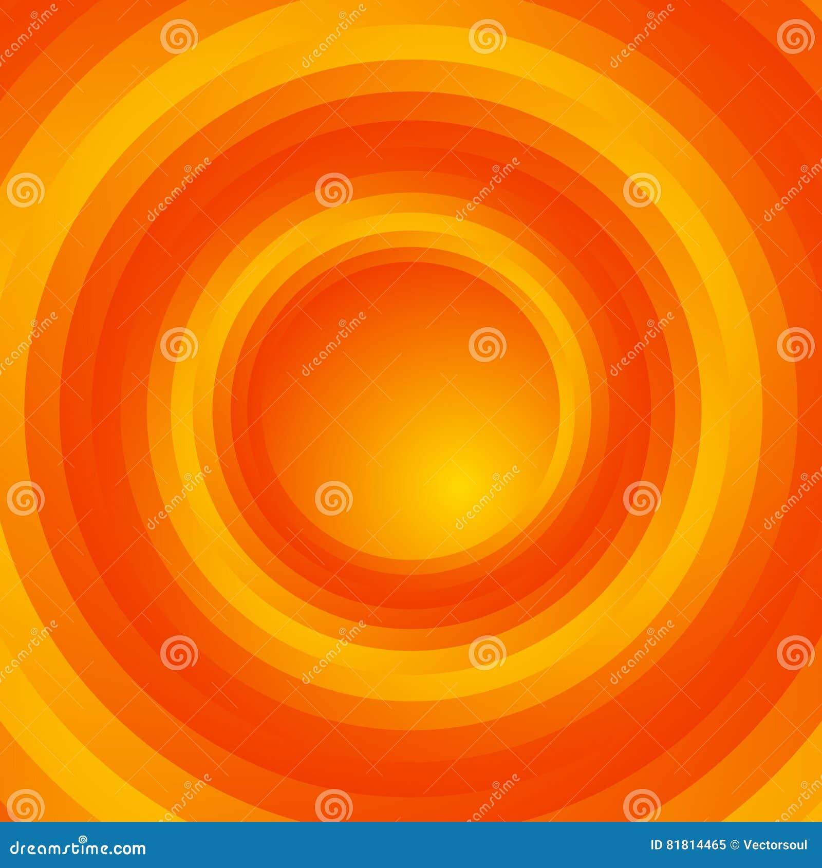 Красочная предпосылка спирального вортекса вращающ, концентрические круги