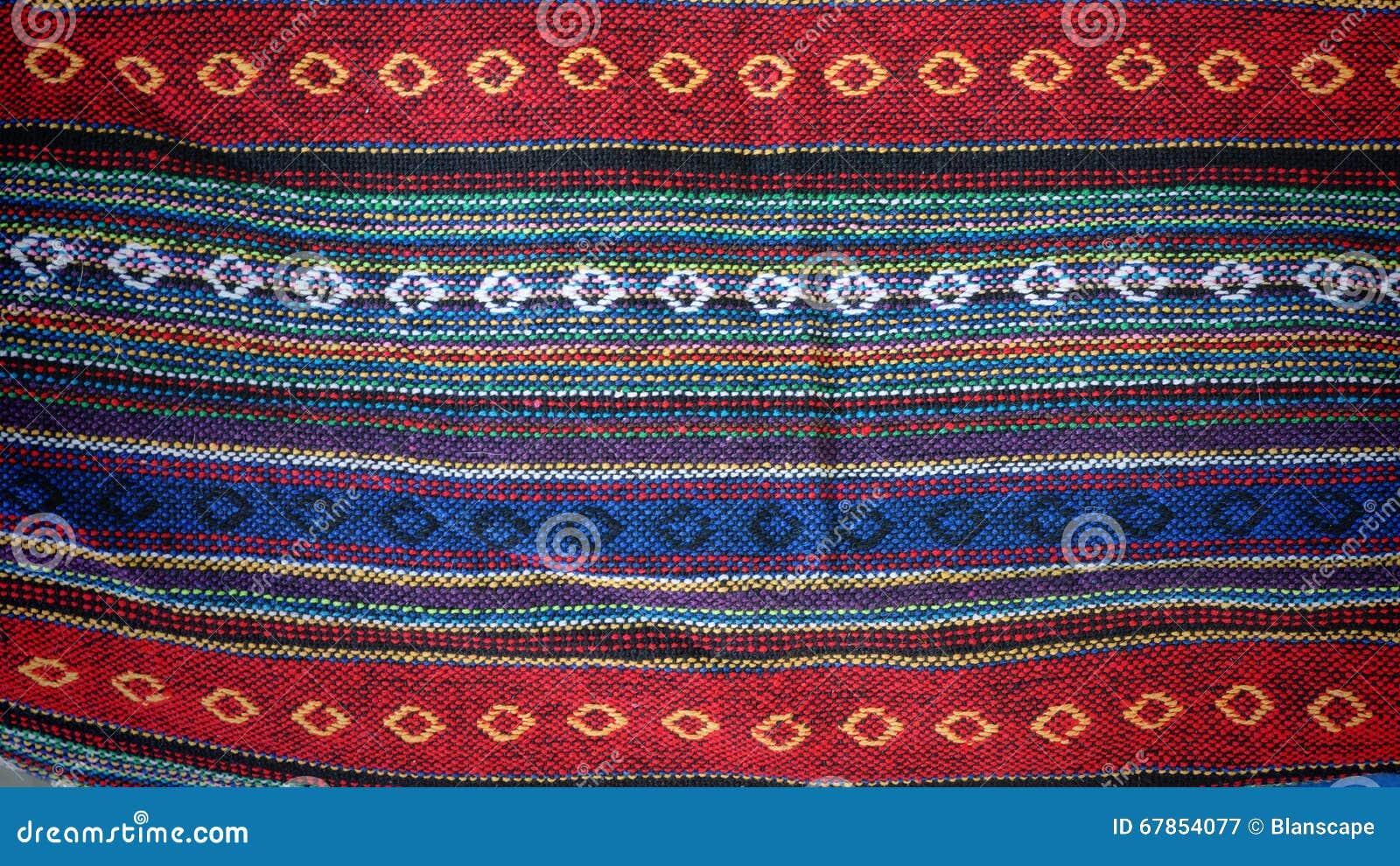 Красочная ткань ткани индиго