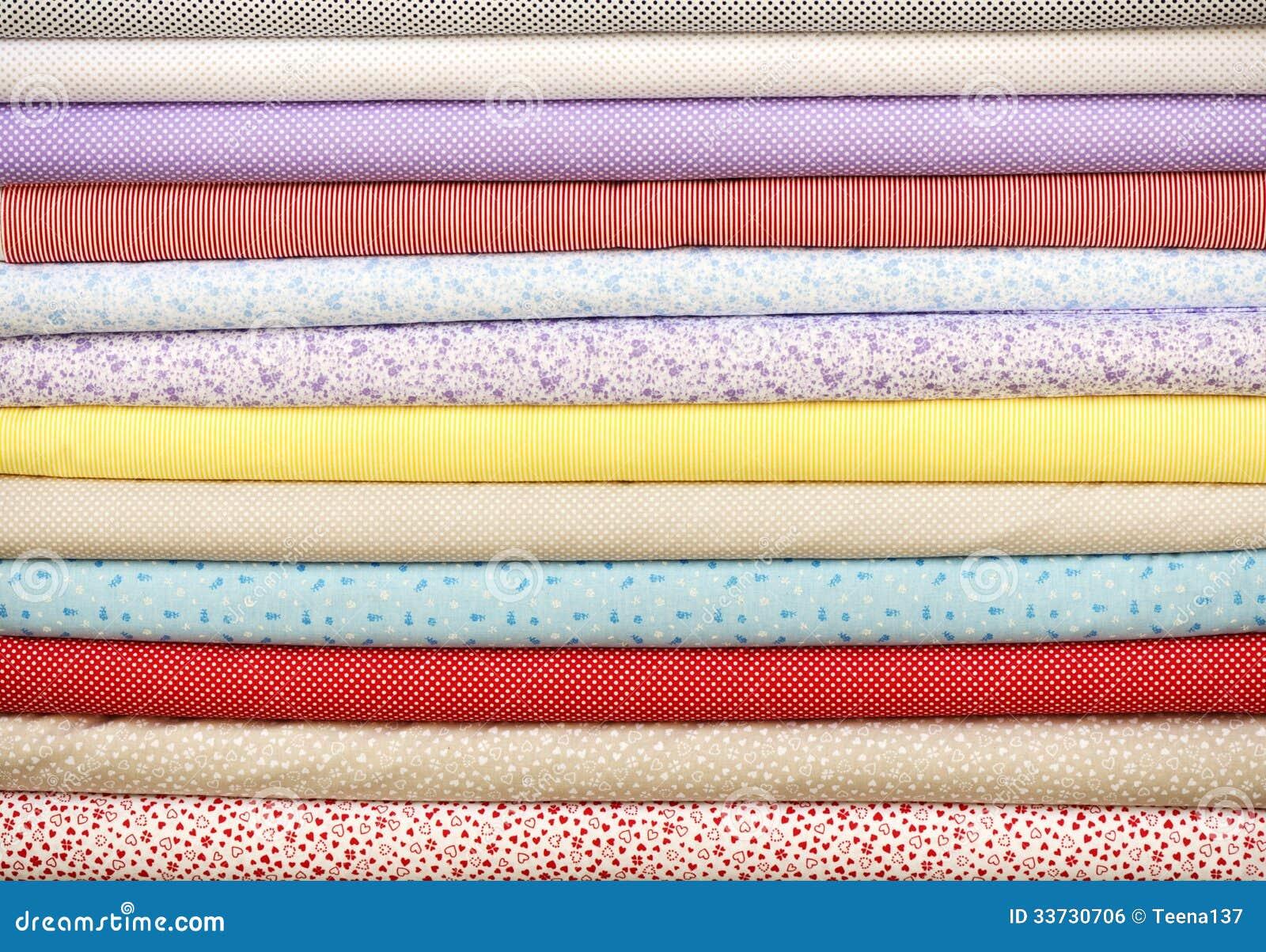 Цветастая ткань