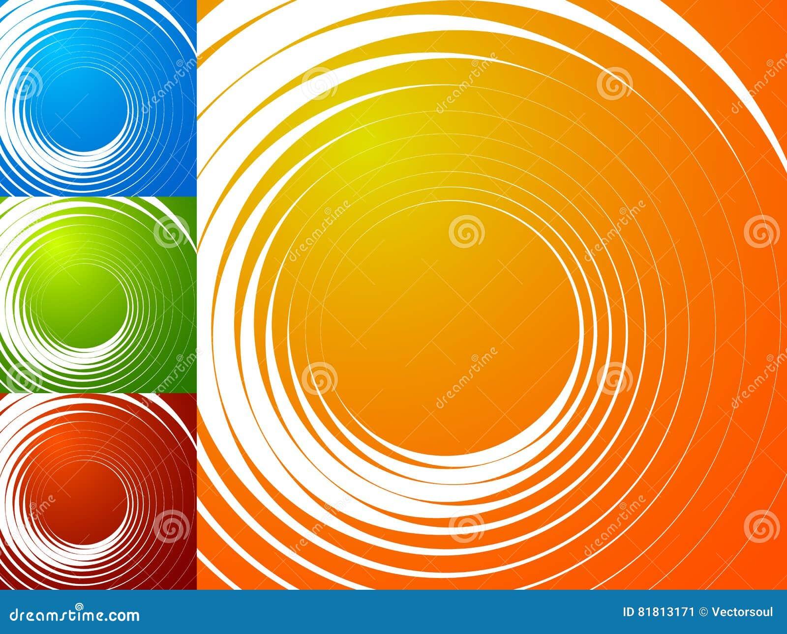 Красочная яркая спирально предпосылка Спираль, предпосылка s вортекса