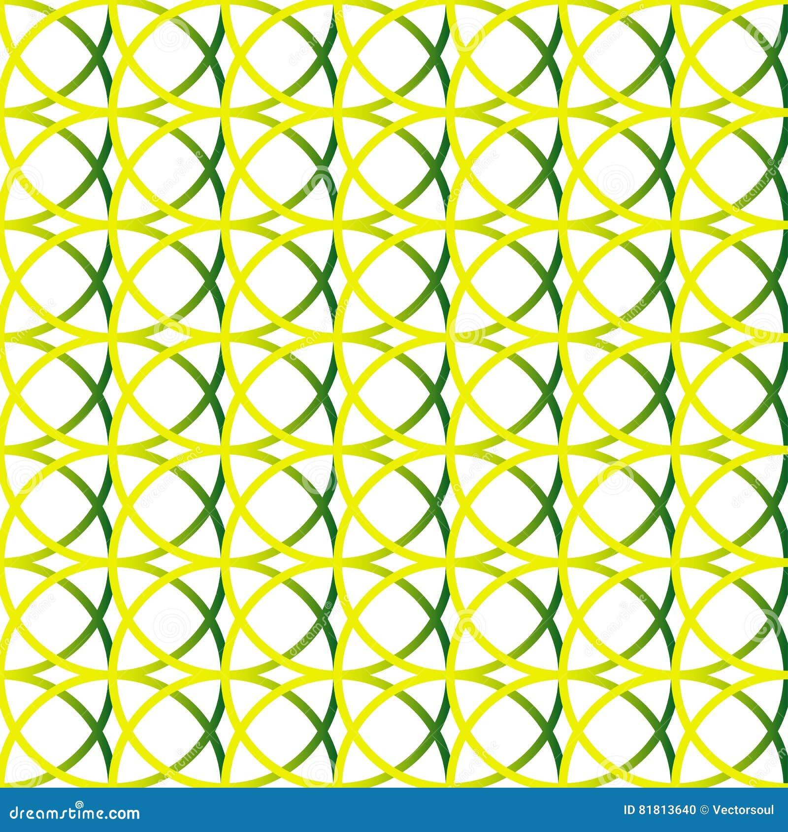 Красочная repeatable предпосылка с пересекая кругами Seamle