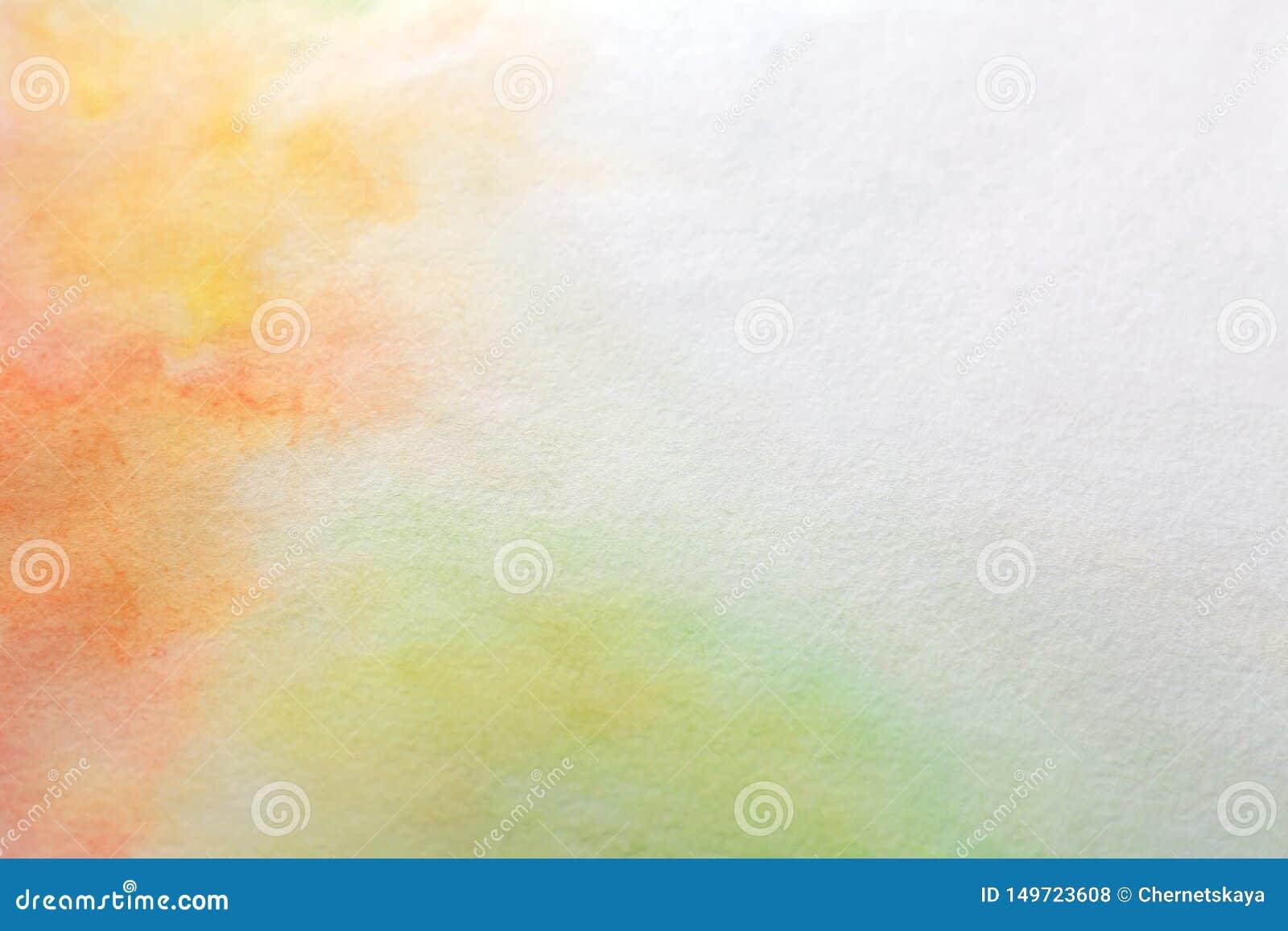 Красочные краски на бумаге E